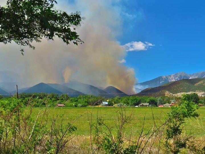 Photo: Hayden Pass Fire 2