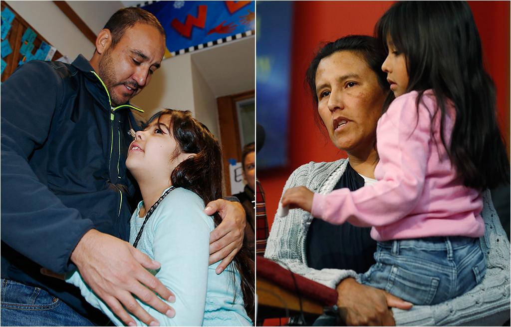 Photo: Arturo Hernandez, Jeanette Vizguerra (AP Photos)