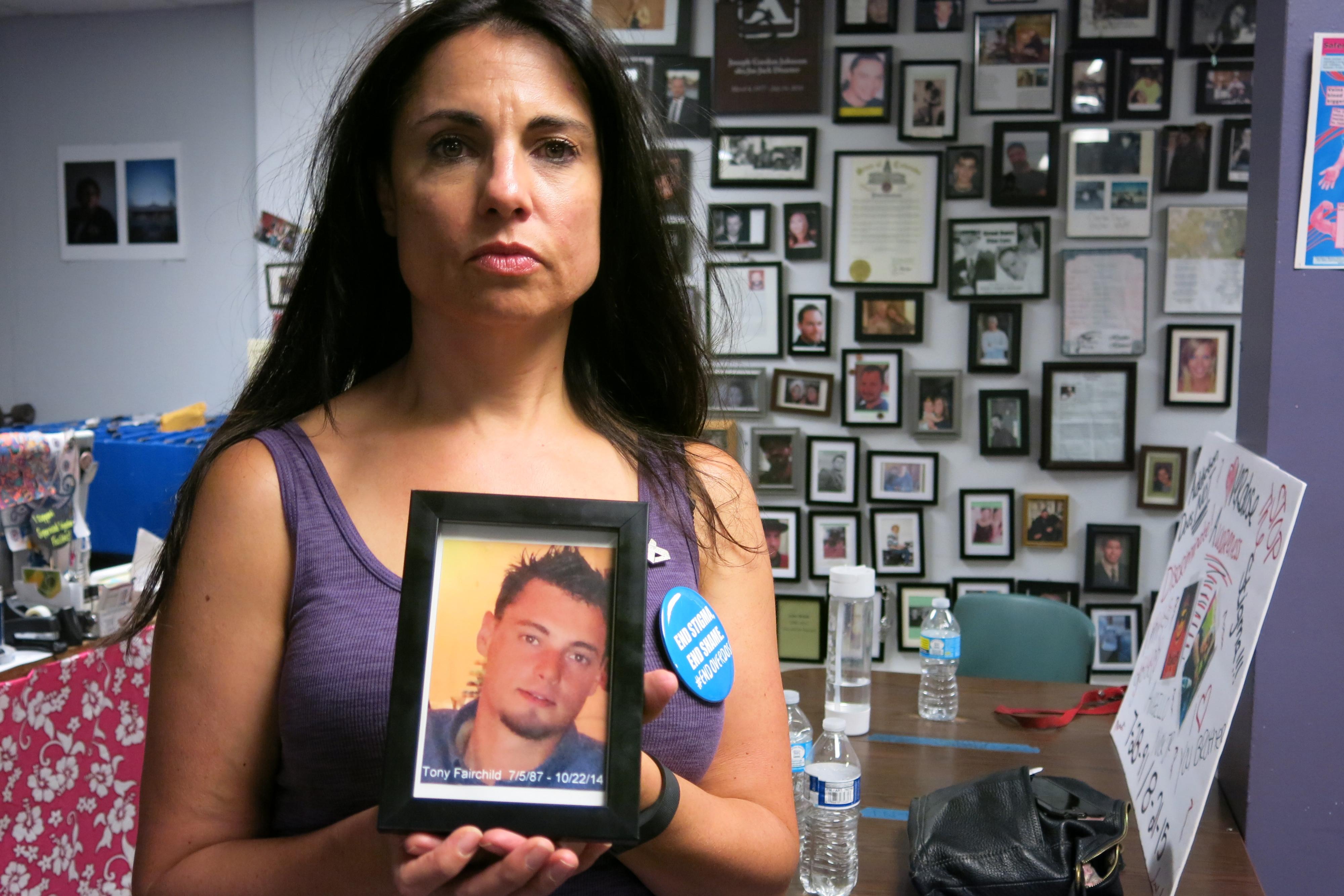 Photo: Heroin overdose awareness, Joelle Fairchild