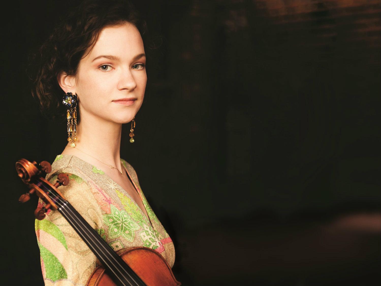 Photo: Violinist Hilary Hahn