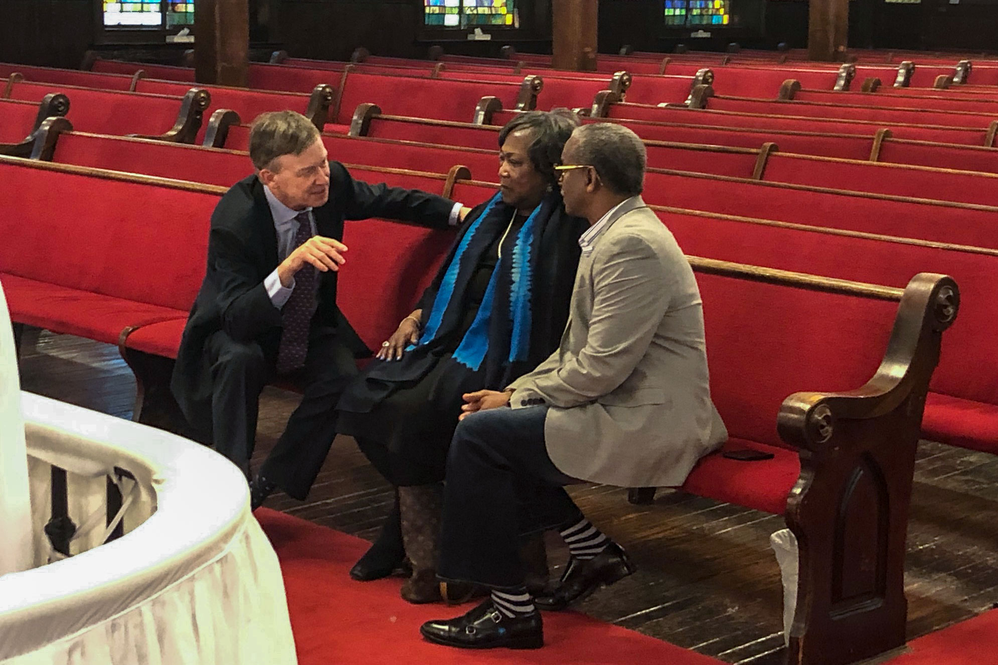 Photo: Hickenlooper At Emmanuel AME Church In Charleston