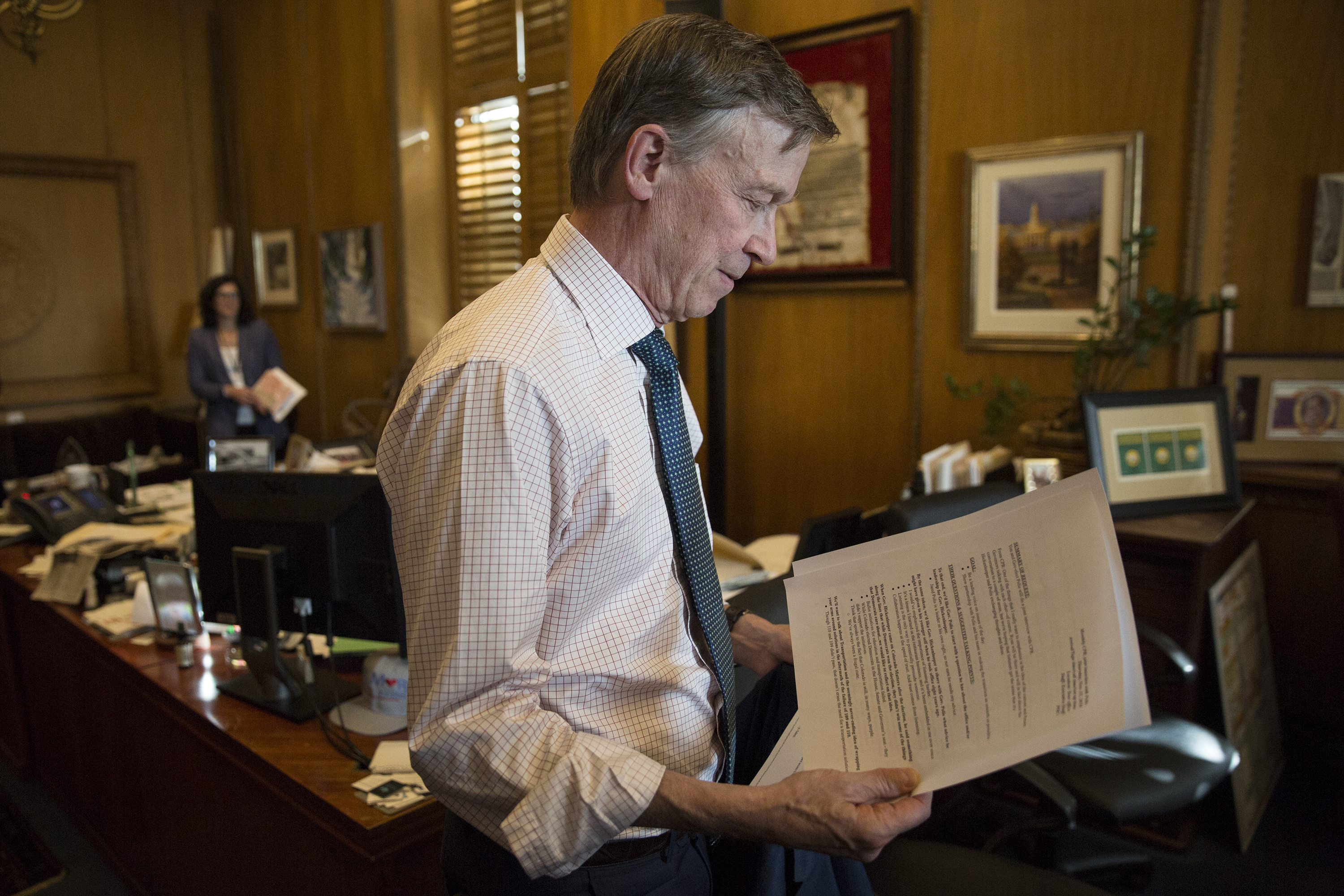 Photo: John Hickenlooper State Capitol November 15 2018 | 4 HV
