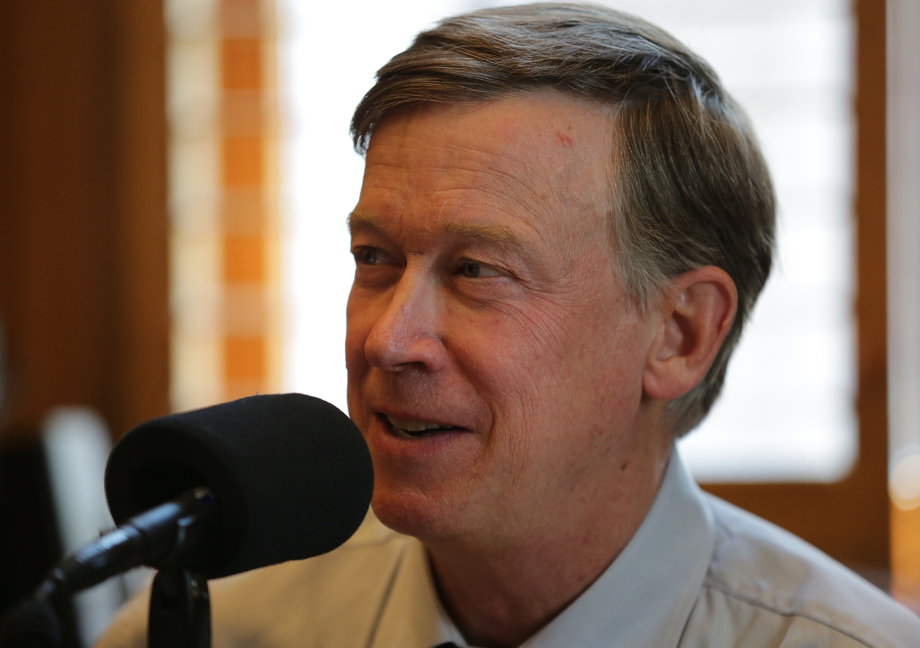 Photo: Hickenlooper On CM Jul 20 2015