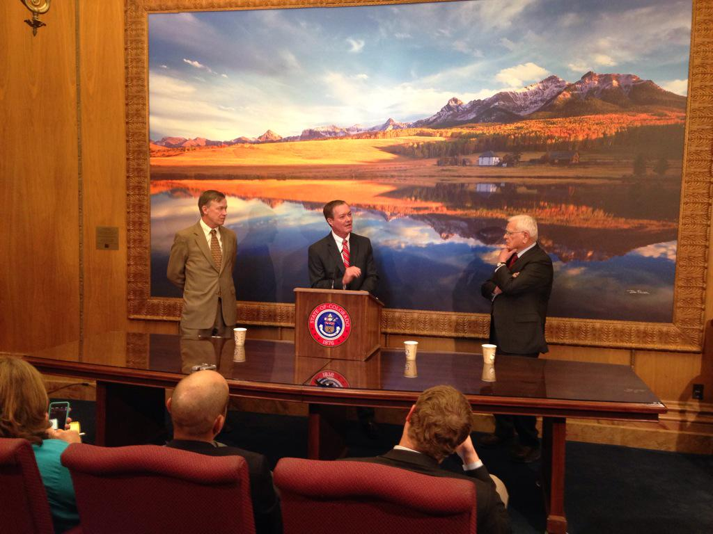 Photo: Hickenlooper, Owens, Romer