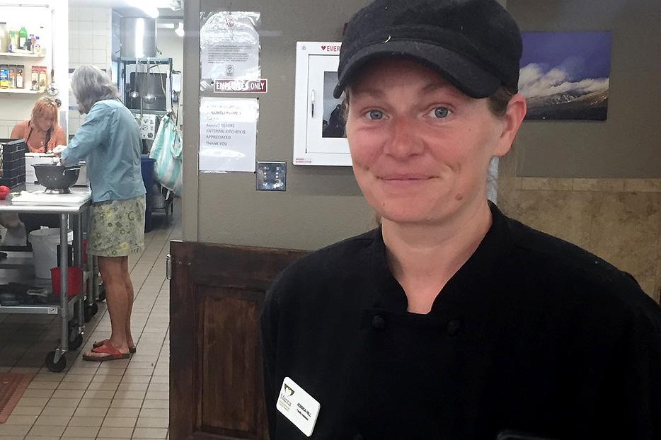 Photo: Jessica Hill Durango Manna Soup Kitchen Homeless