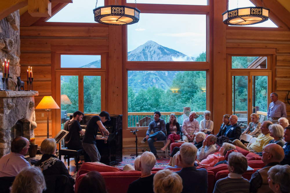 Photo: Crested Butte home soiree