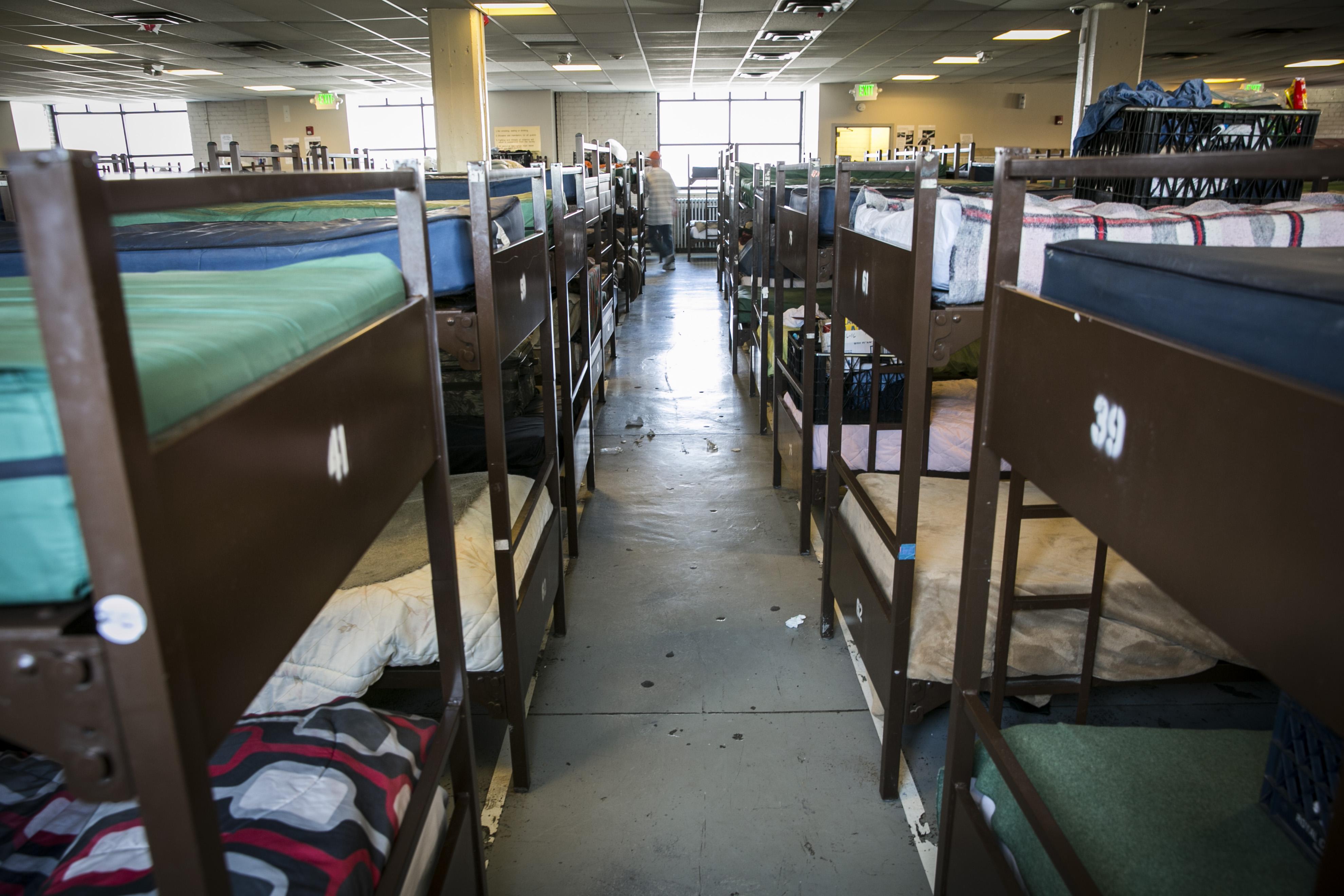 Photo: Denver Homeless 3 | Beds in Denver Rescue Mission