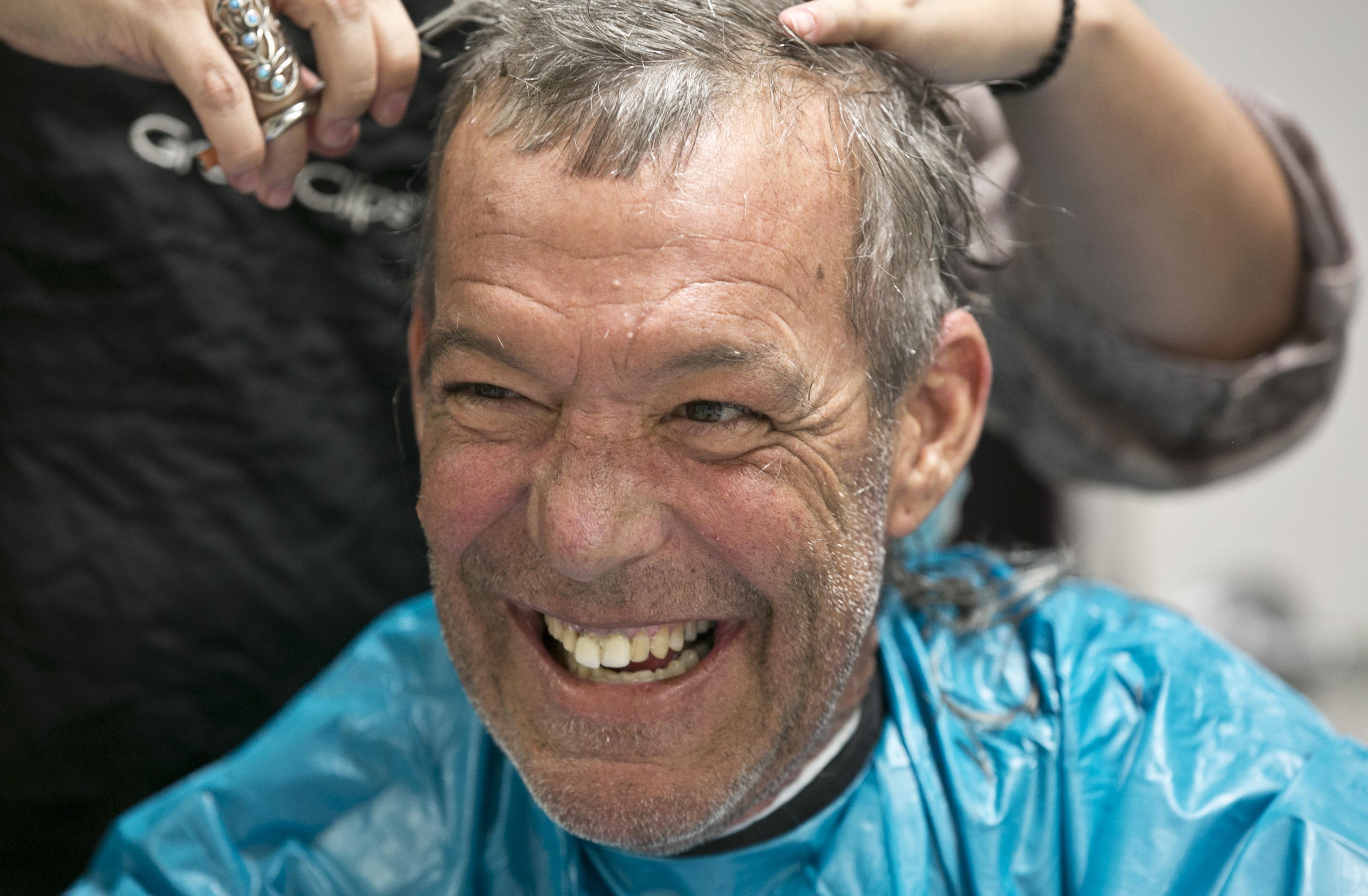 Photo: Homeless haircuts 1 | Craig Willams