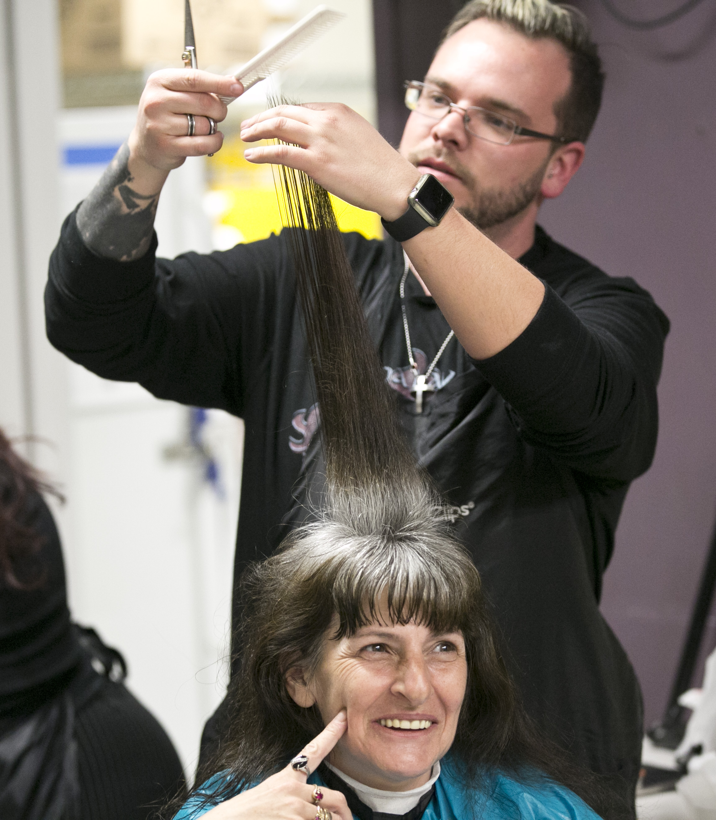 Photo: Homeless haircuts 4 | Renee Knows