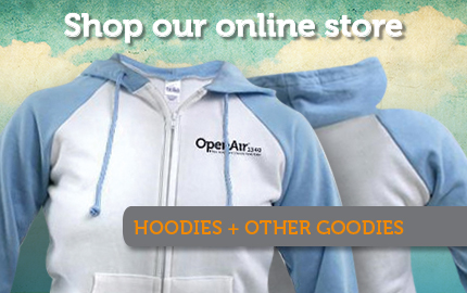 Shop OpenAir's online store this holiday season!