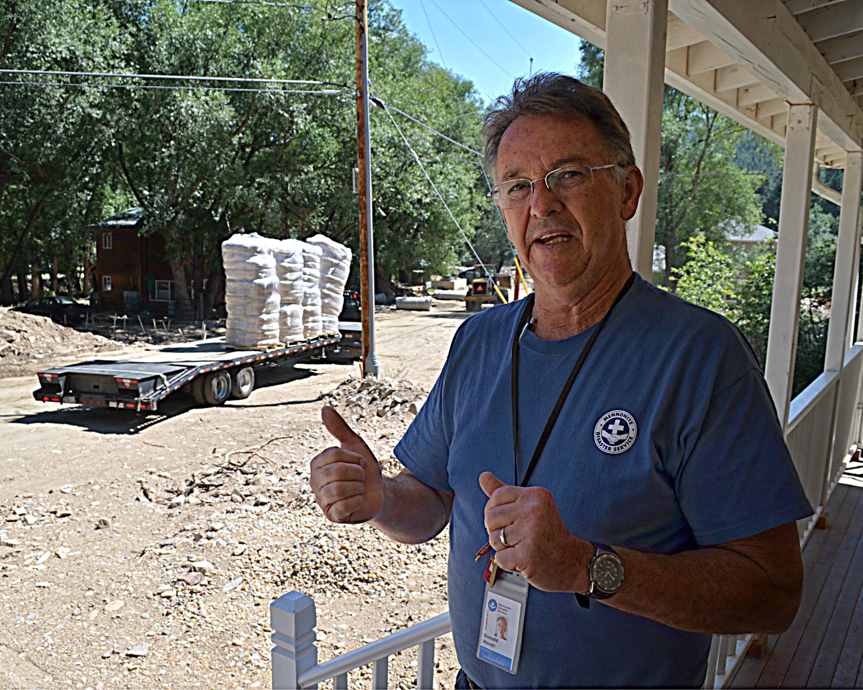 Photo: Don Horst Mennonite Disaster Service