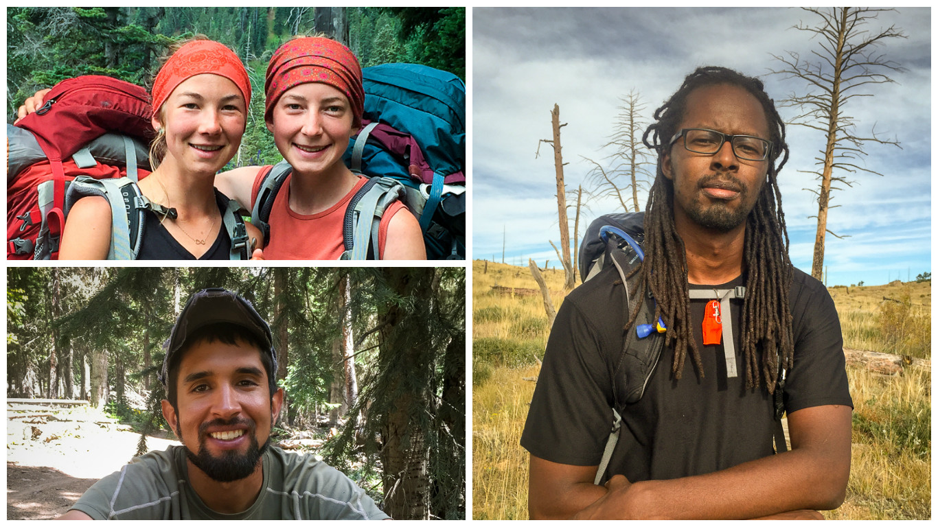 Photo: Hikers Humans of the Colorado Trail montage
