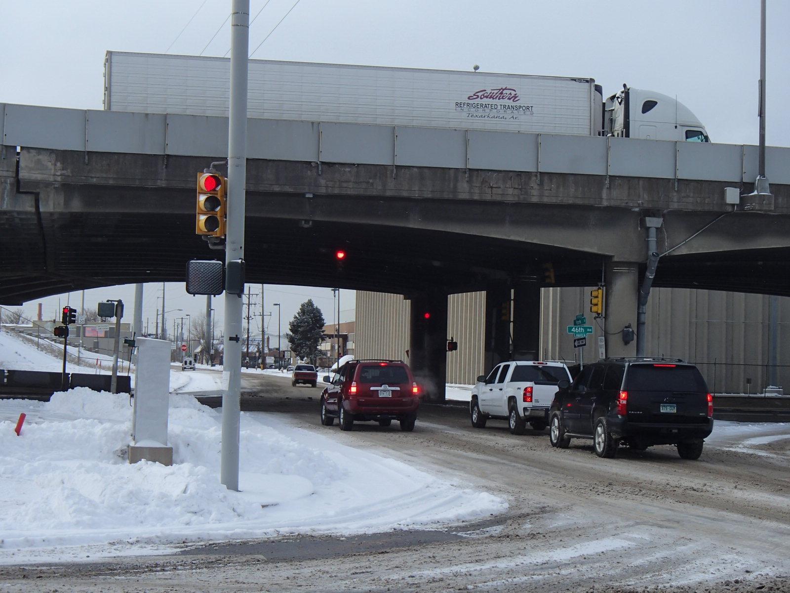Photo: Interstate 70 viaduct in North Denver