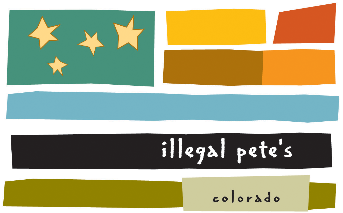 Photo: Illegal Pete's logo