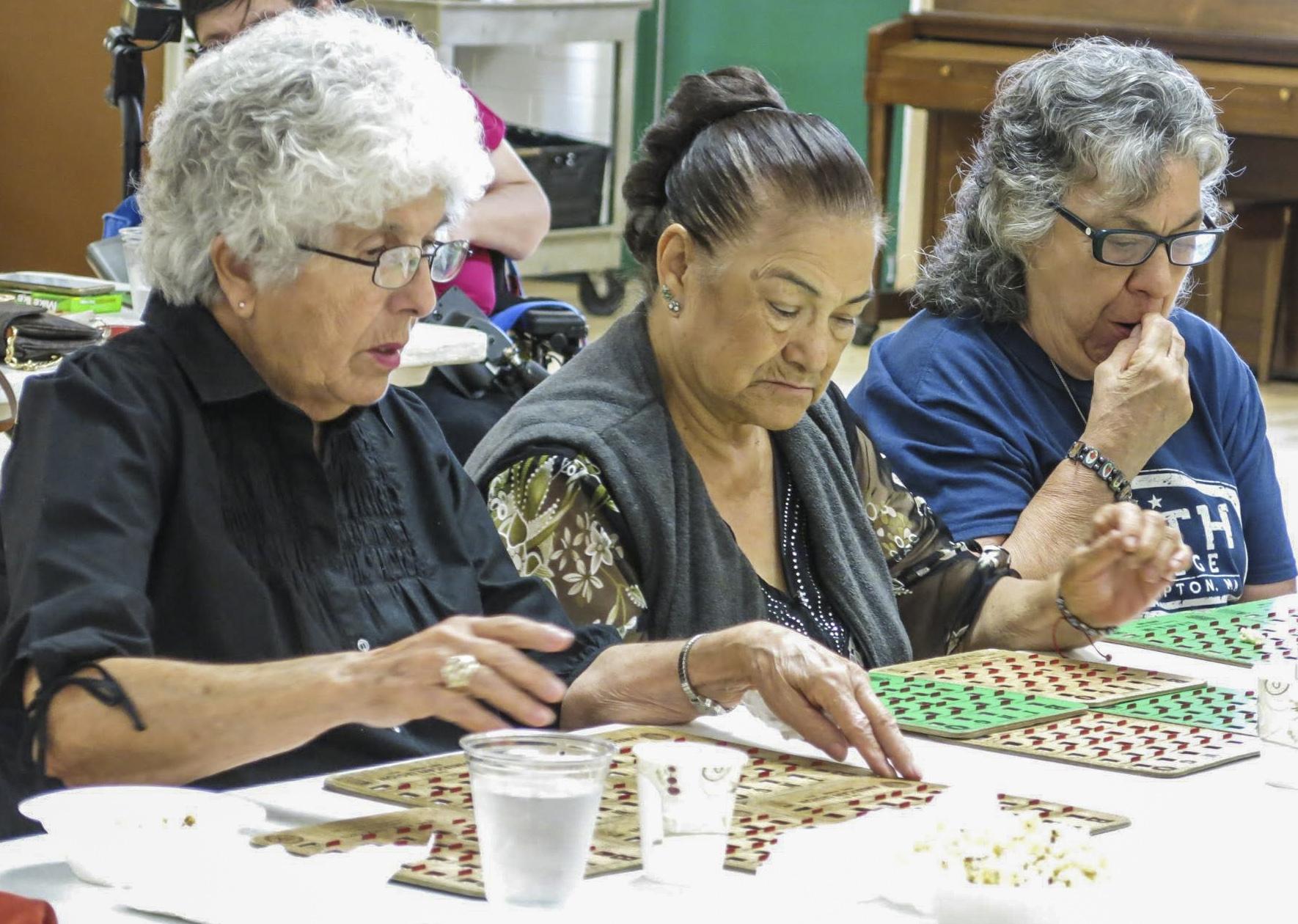 Photo: Colorado heat and health 3 | Playing bingo