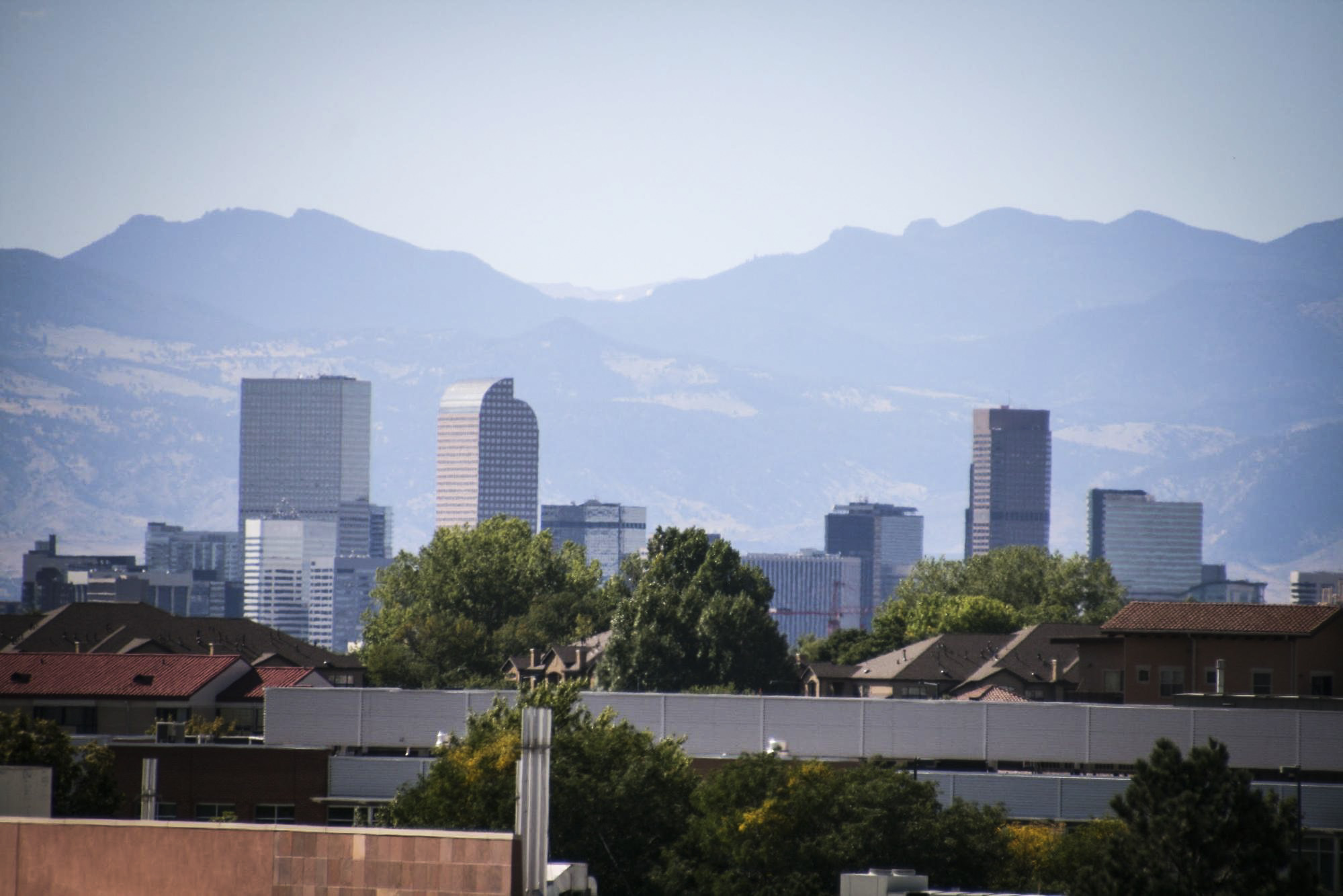Photo: Colorado heat and health 2 | View of downtown Denver