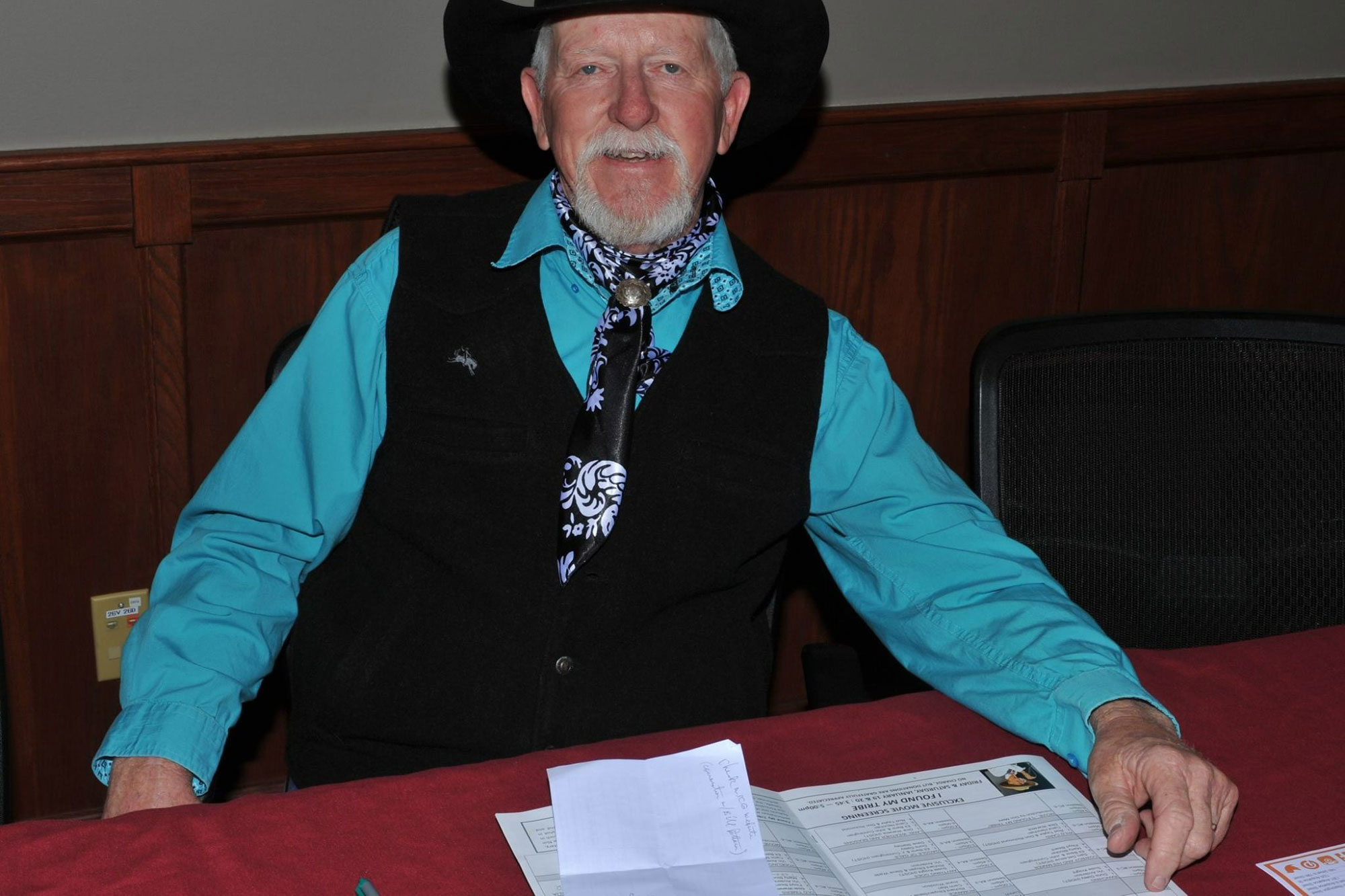 Photo: Terry Nash Cowboy Poet