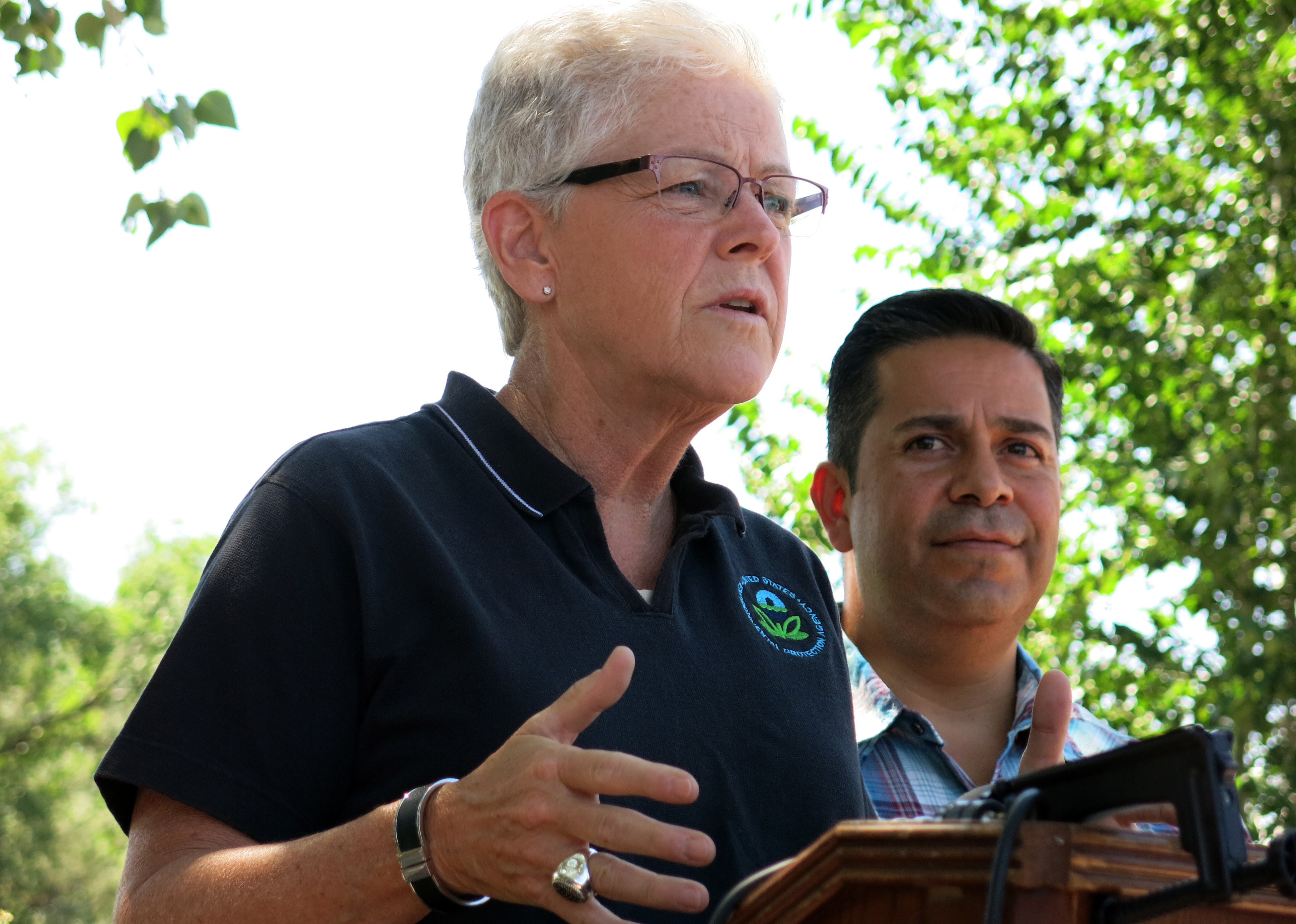 Photo: EPA Administrator Gina McCarthy In New Mexico