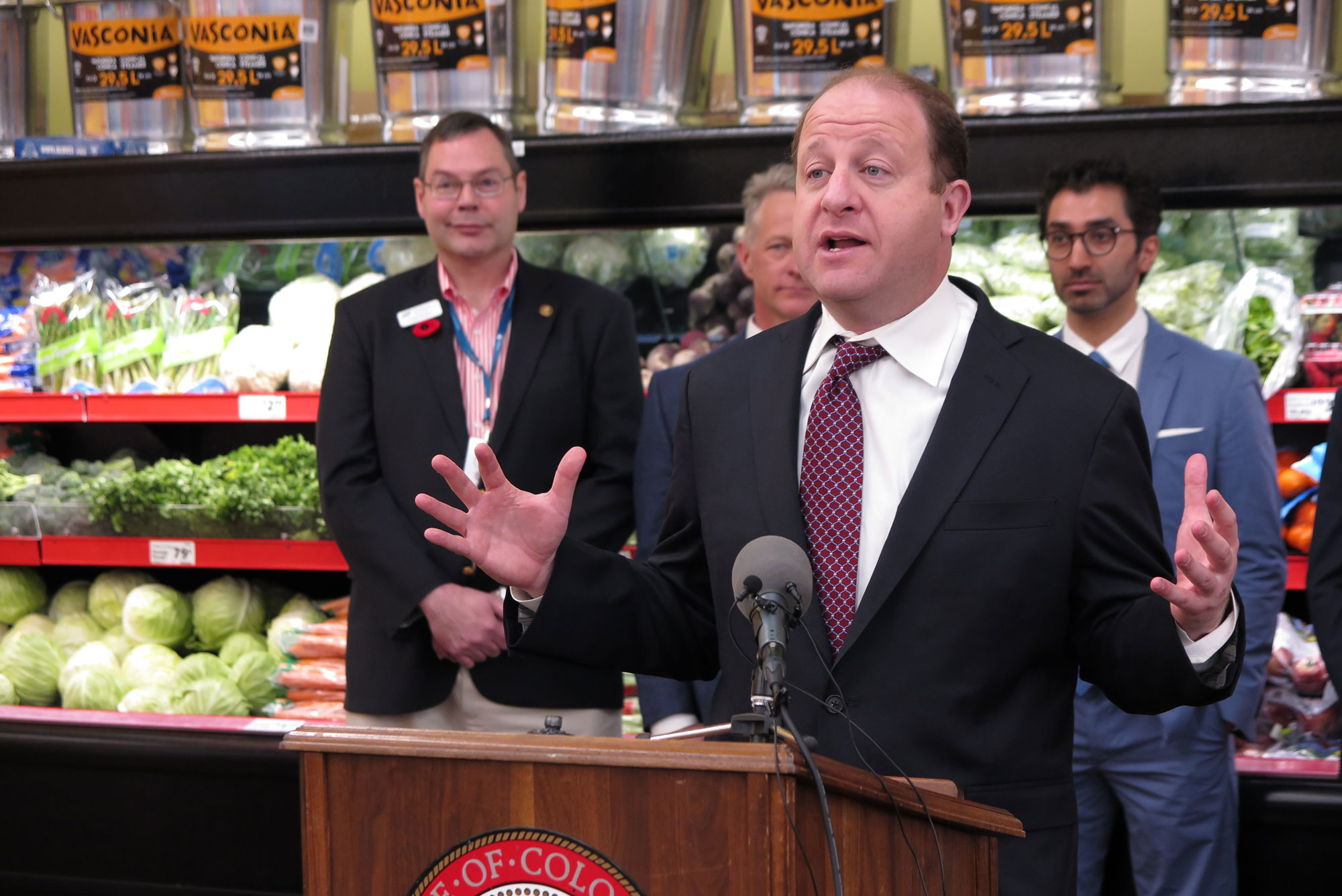 Photo: Gov. Jared Polis Employee Owned Business Executive Order