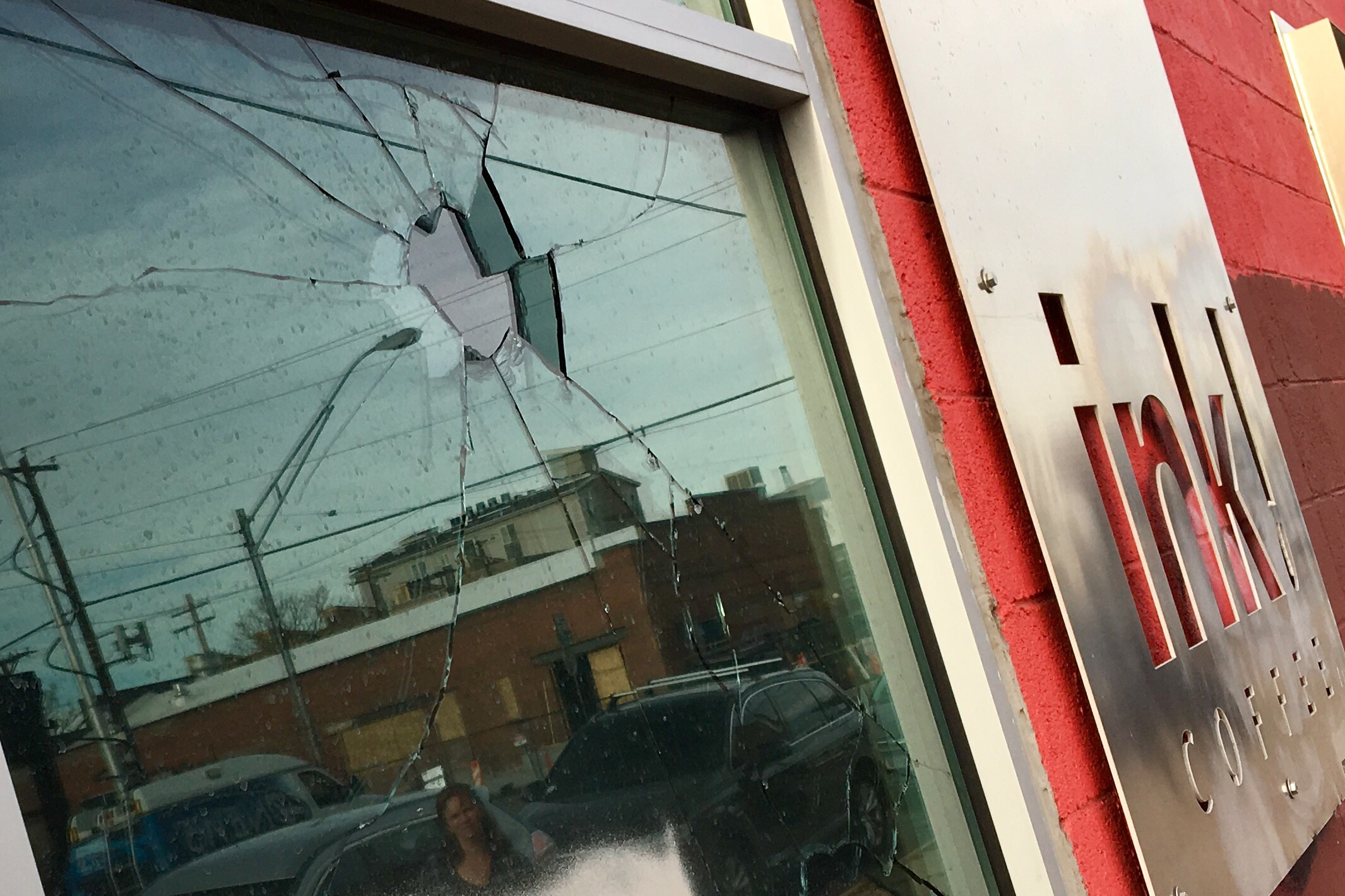 Photo: Ink! Coffee Shop in Denver 1 | Broken Window