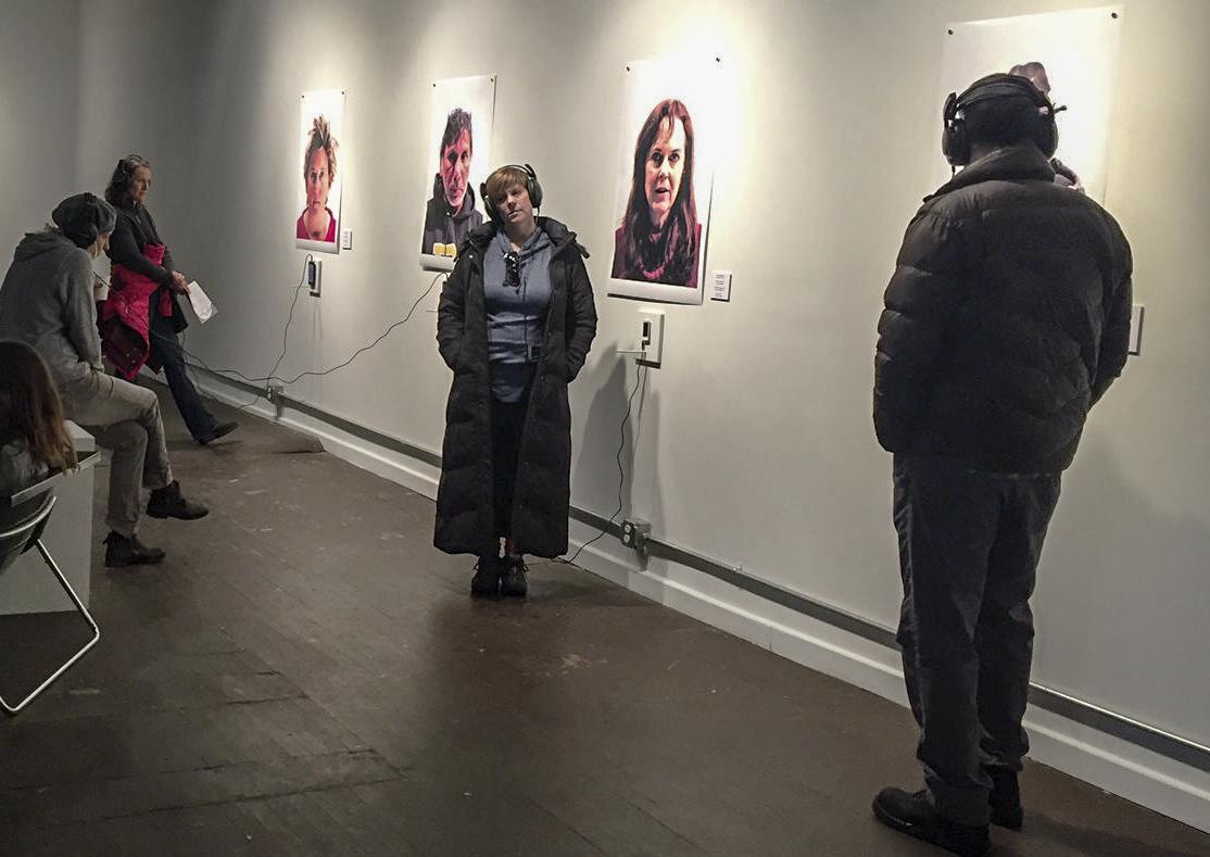 Photo: PlatteForum Dear Mayor Hancock exhibit portraits