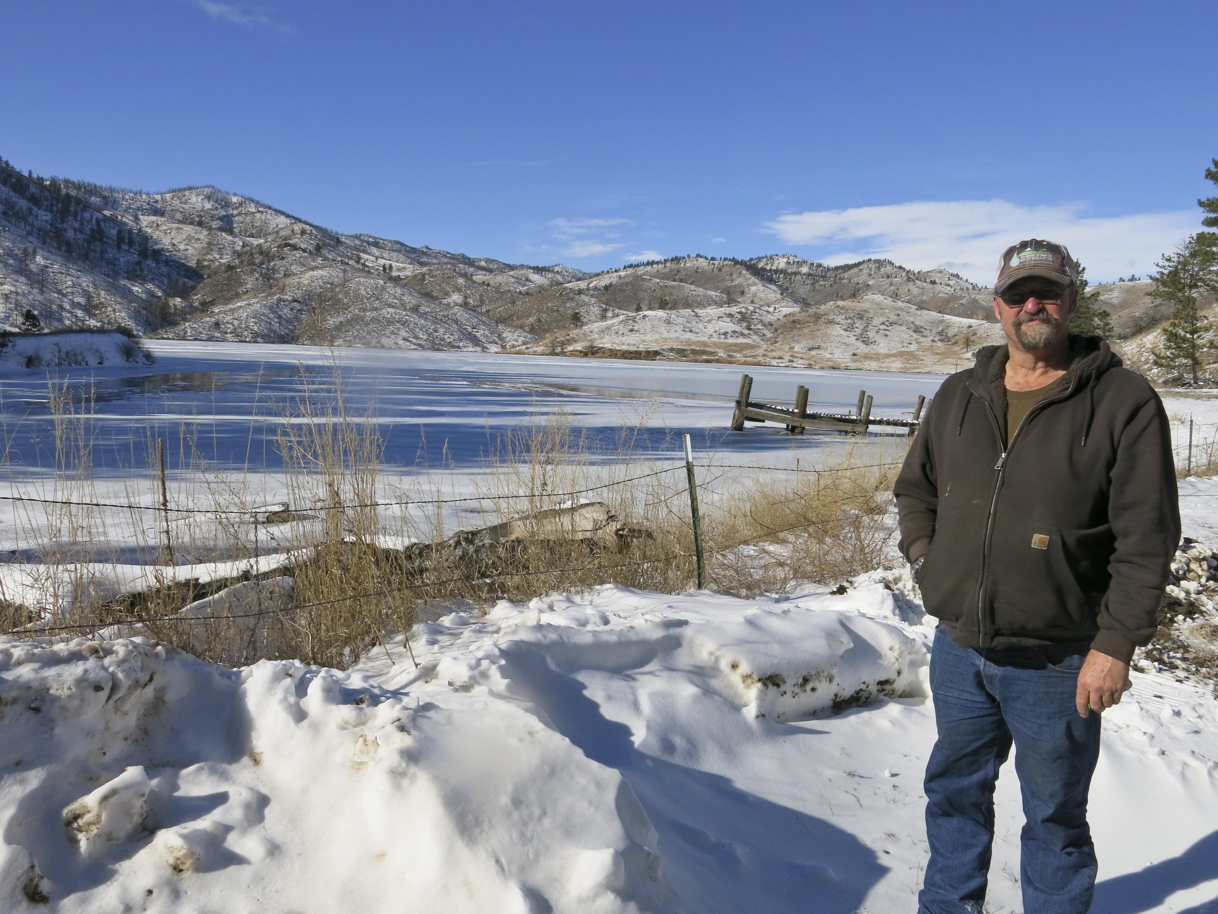Photo: Reservoir caretaker 1 | Doug Billingsley at Milton Seaman Reservoir (Staff)