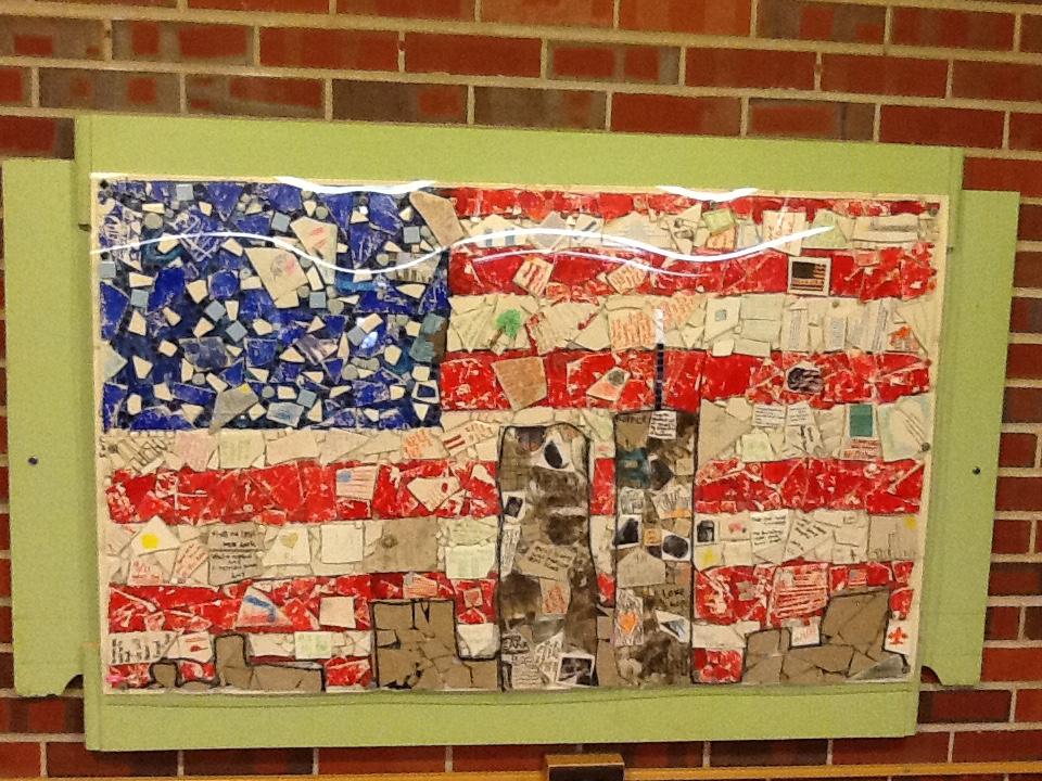 Photo: 9-11 Ralston Elementary art_FEATUR