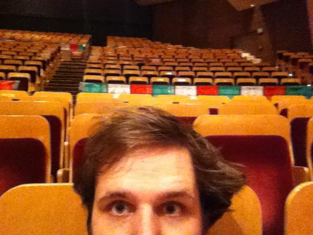 Photo: Scott Carney at Boettcher Concert Hall