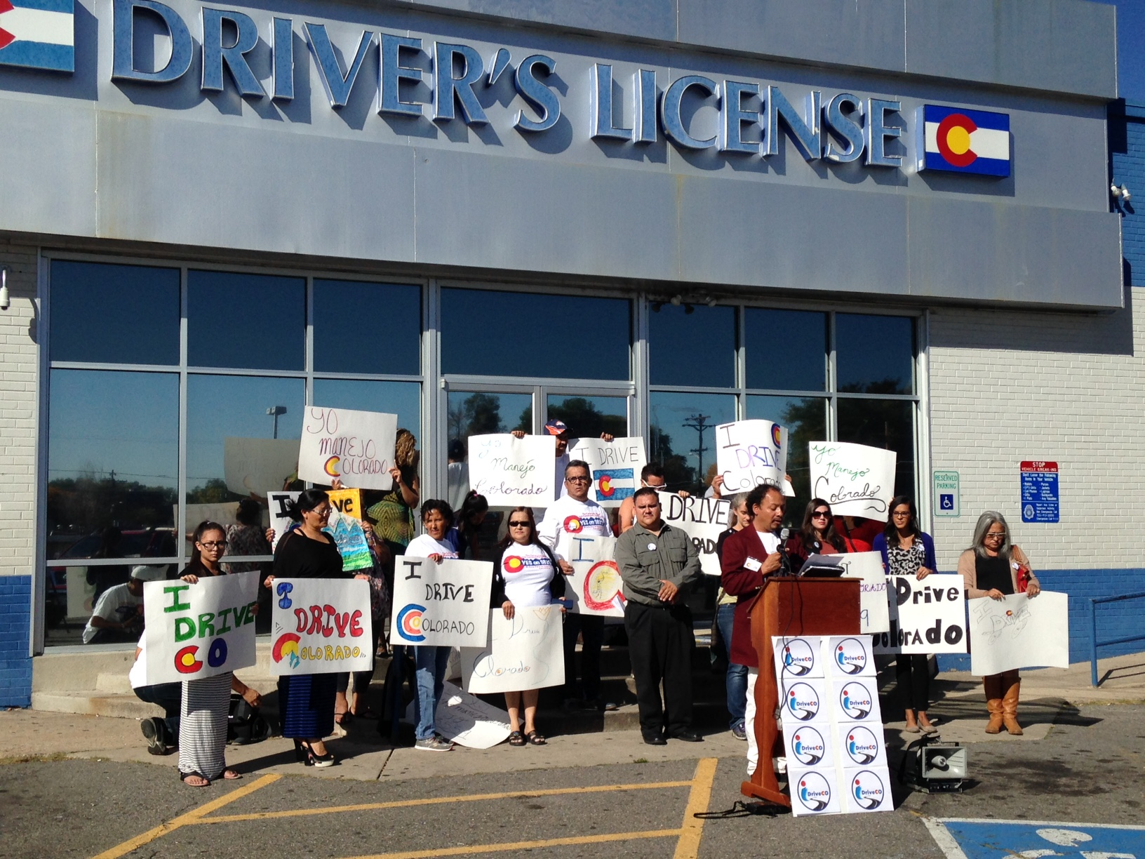 Photo: Driver's License Rally