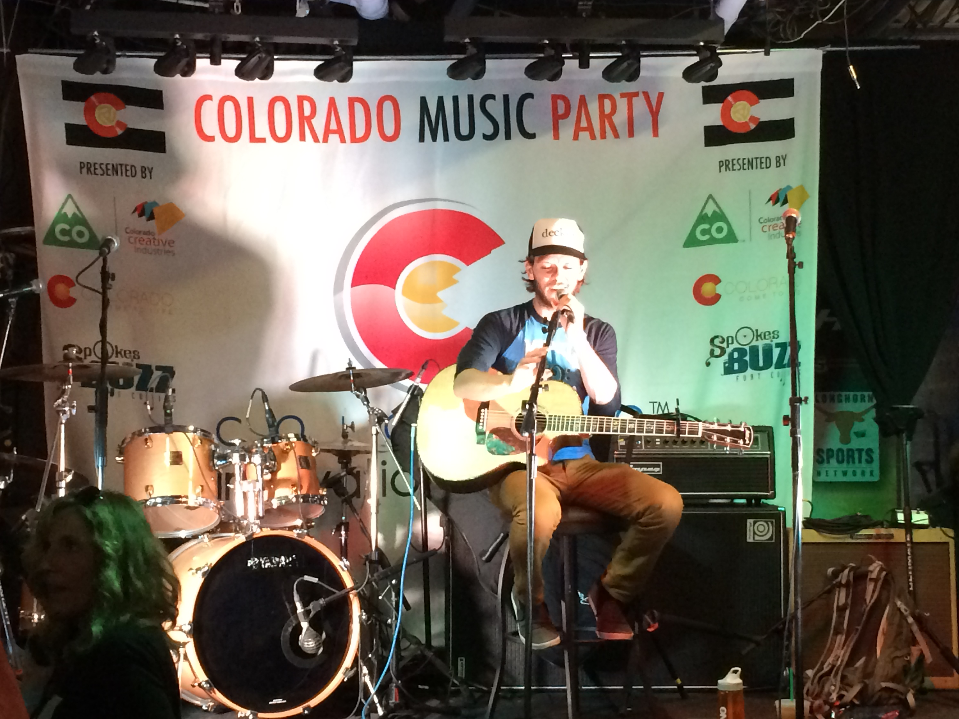 Photo: Maxwell Hughes at Colorado Music Party SXSW 2015