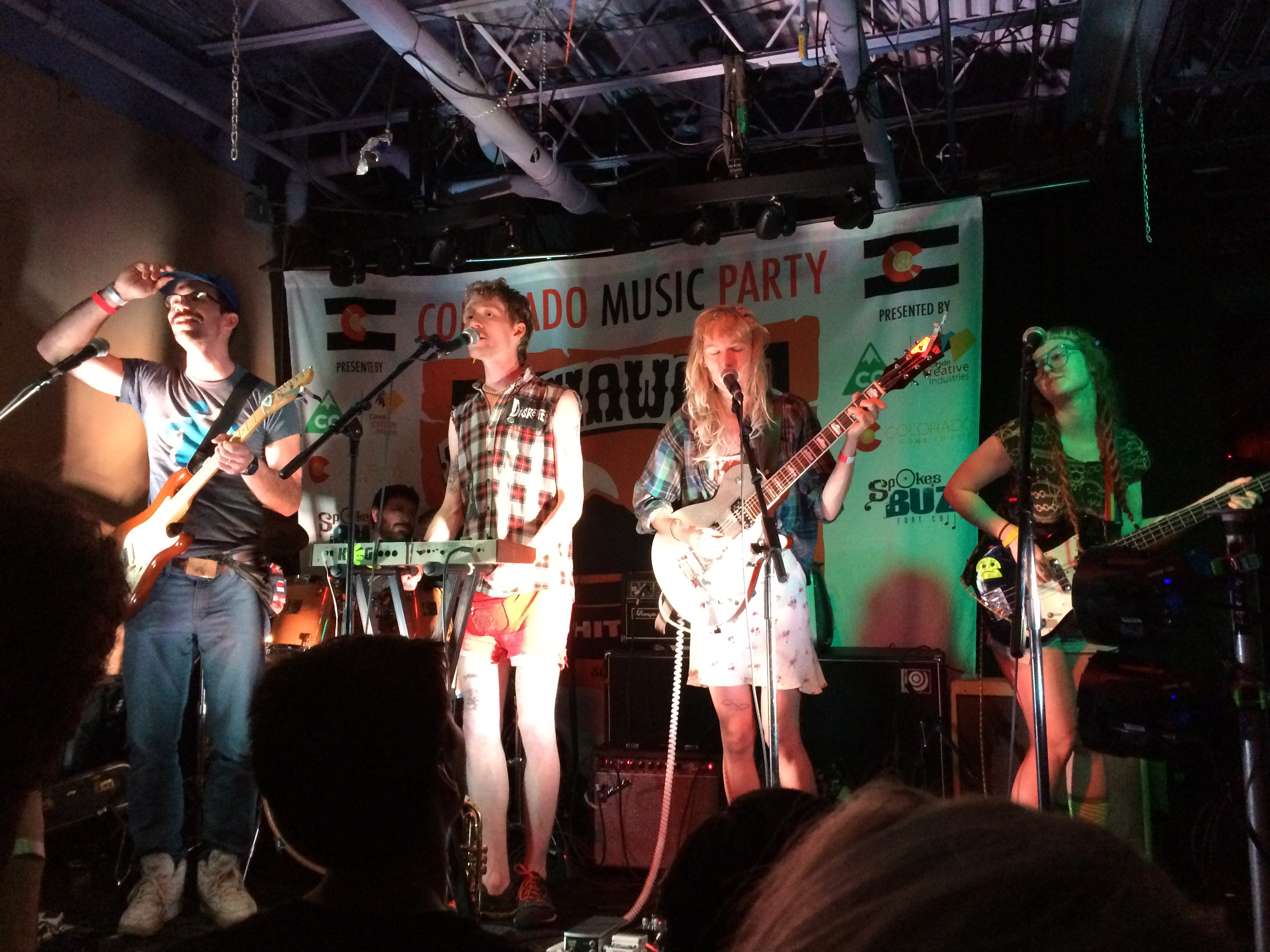 Photo: Strawberry Runners at Colorado Music Party at SXSW 2015