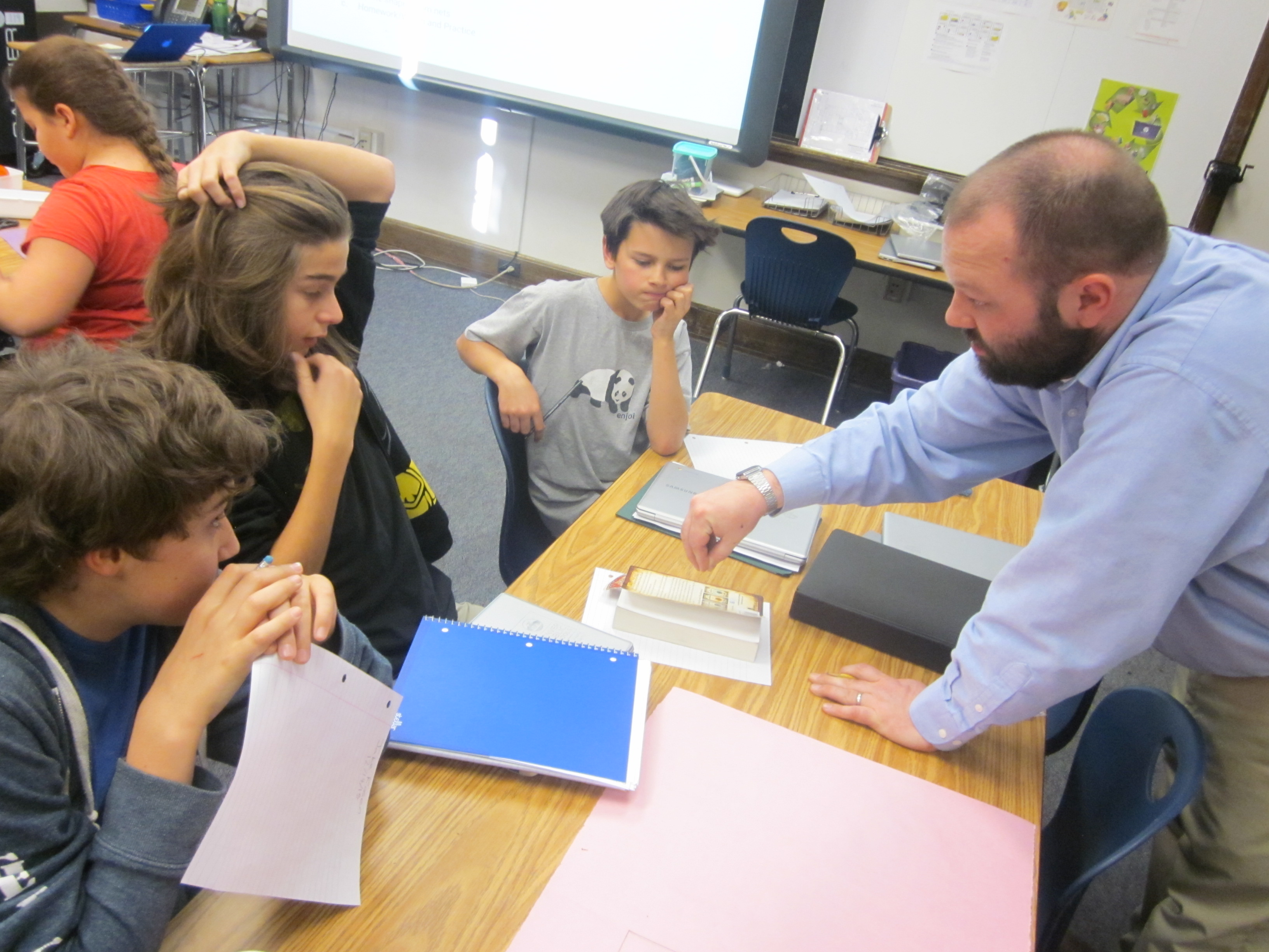 Photo: Teach To One Morey MS Brinster