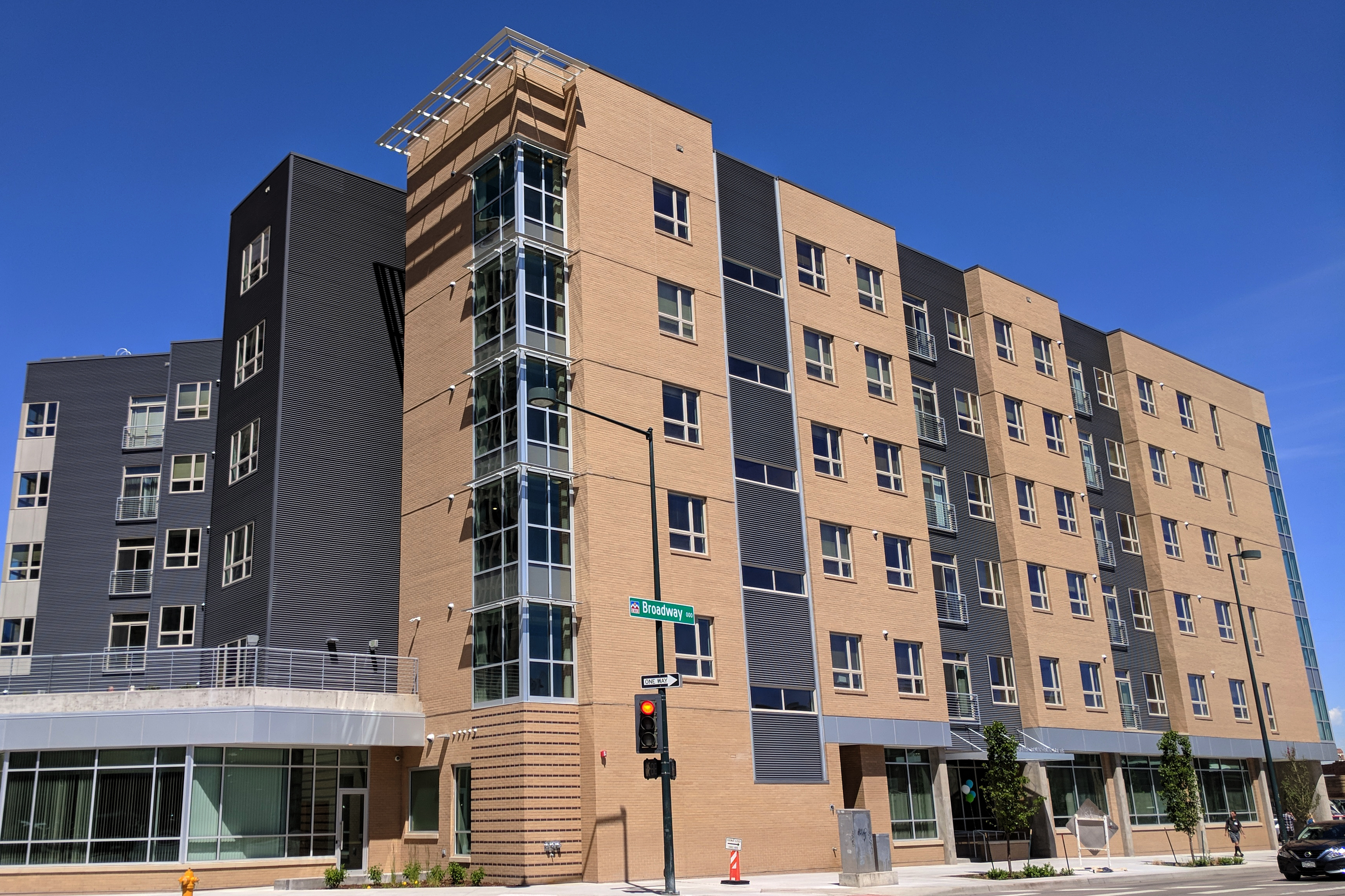 Photo: The Renaissance Downtown Lofts for the homeless In Denver opened May 31, 2018