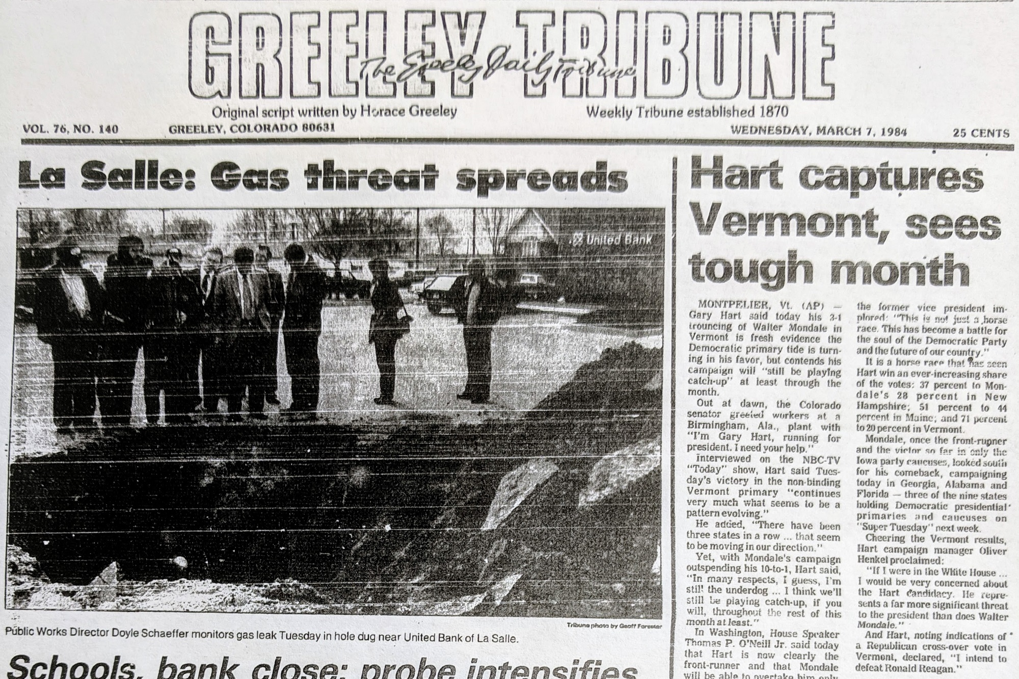Photo: Greeley Tribune 1984 Oil and Gas Explosion 2
