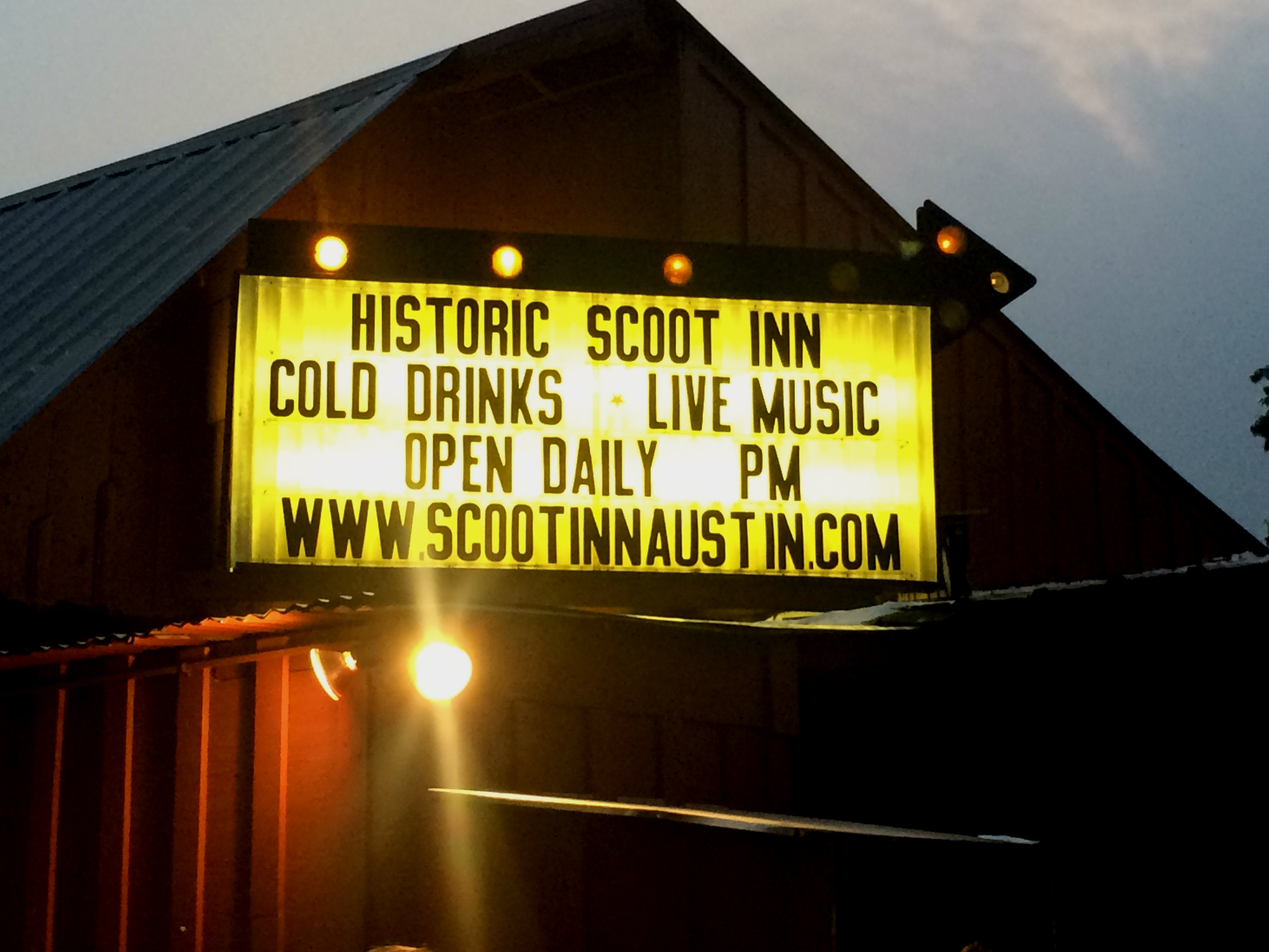 Photo: Scoot Inn in Austin