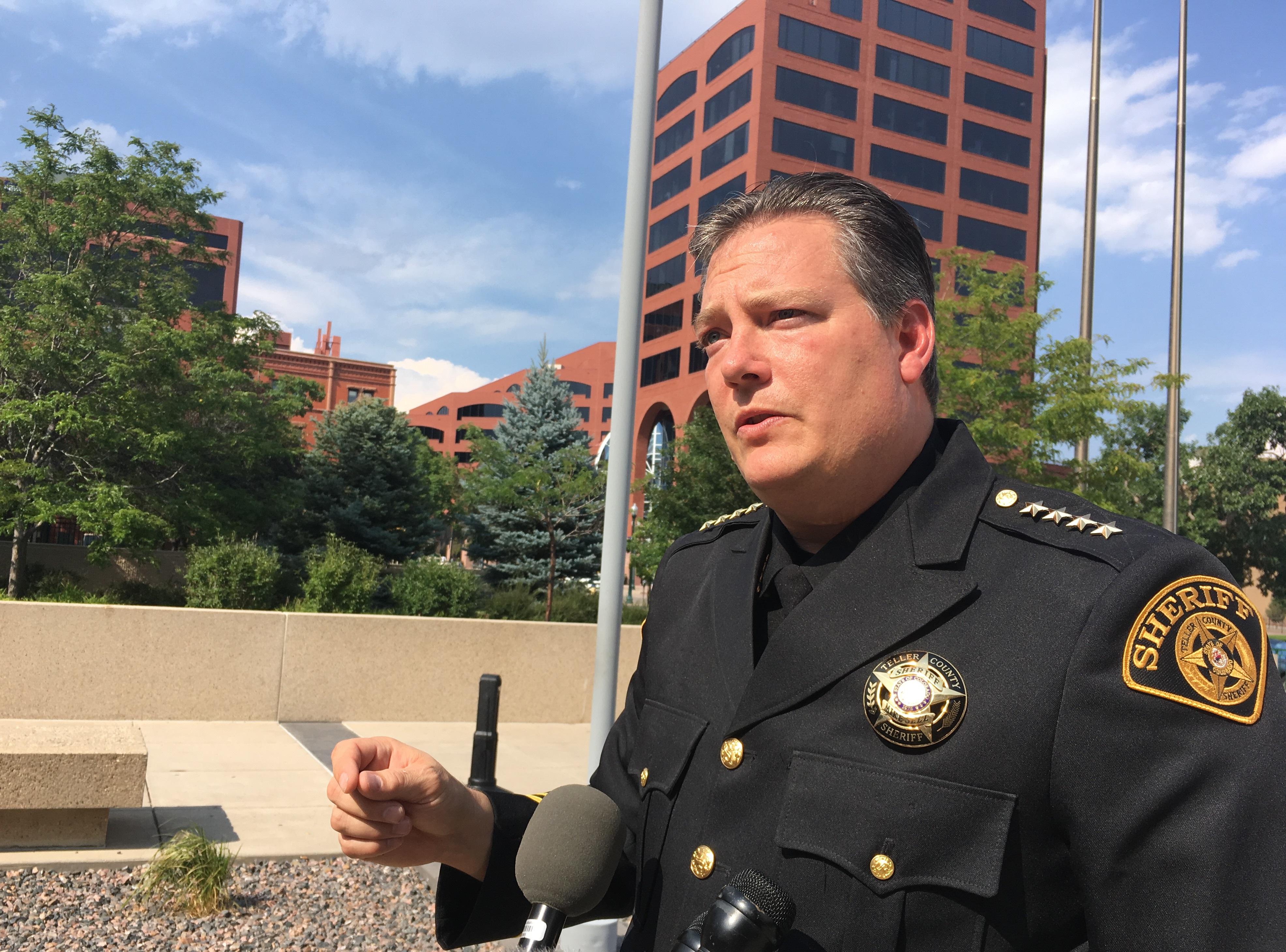 Photo: Teller County Sheriff Jason Mikesell