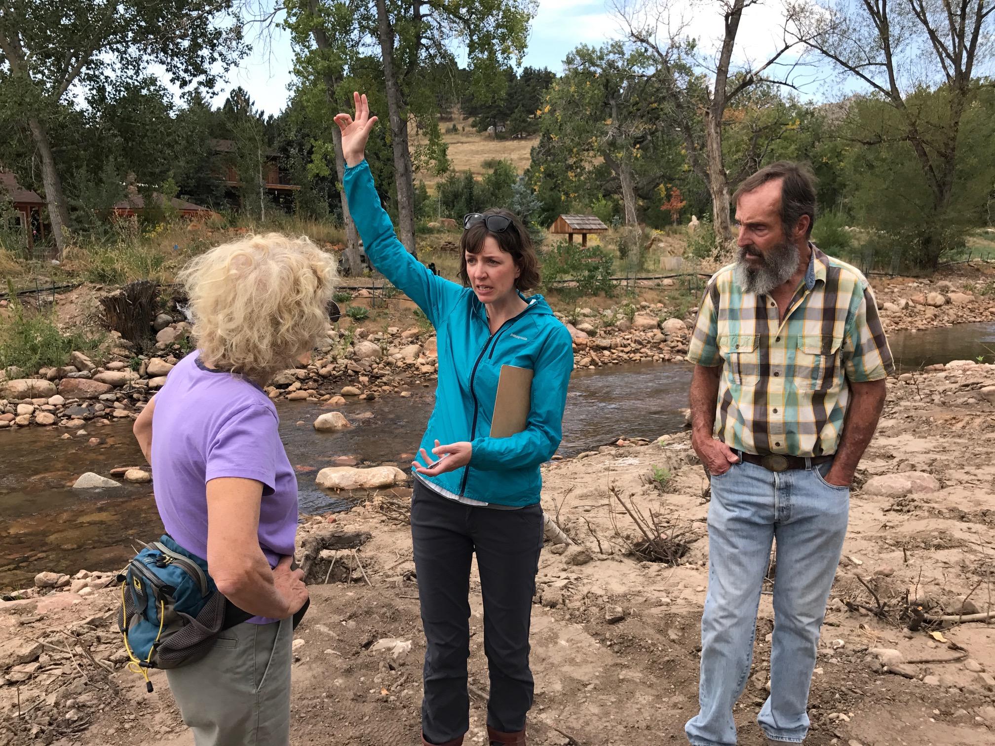 PHOTO: Left Hand Creek Flood Recovery Jessie Olson