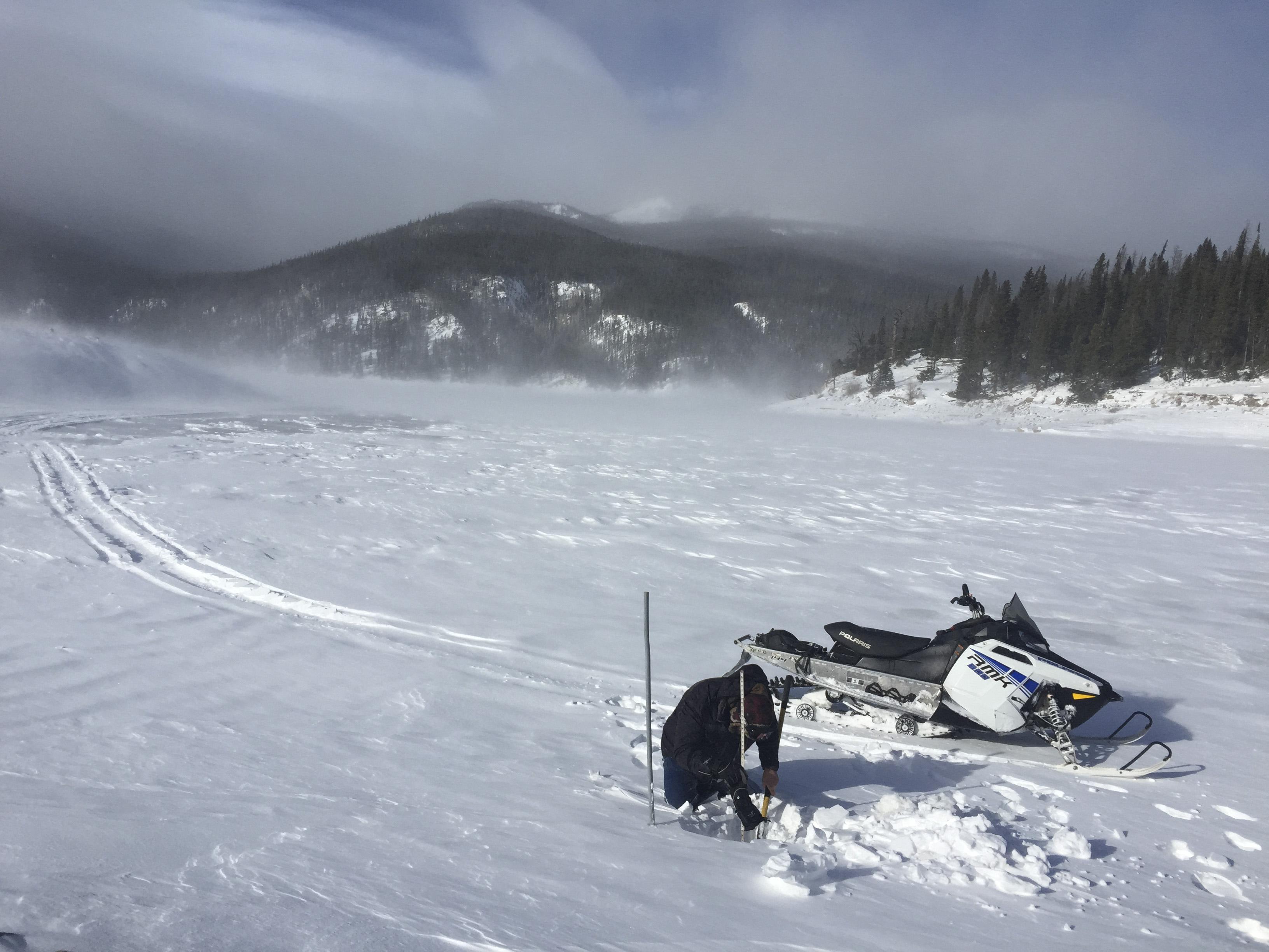 Photo: Reservoir caretaker 2 | Doug Billingsley at Chambers Lake