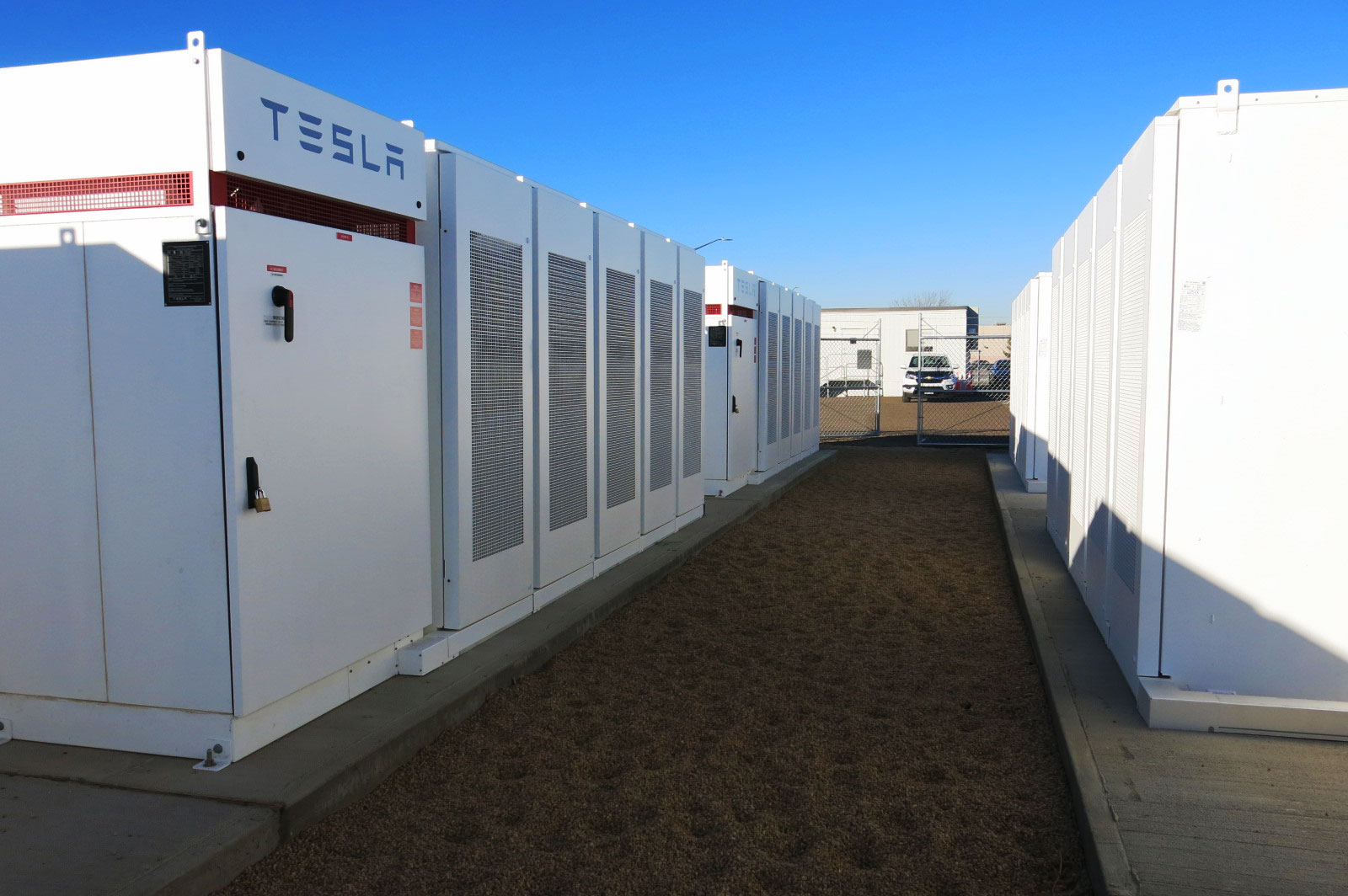 Photo: United Power Tesla Battery Storage