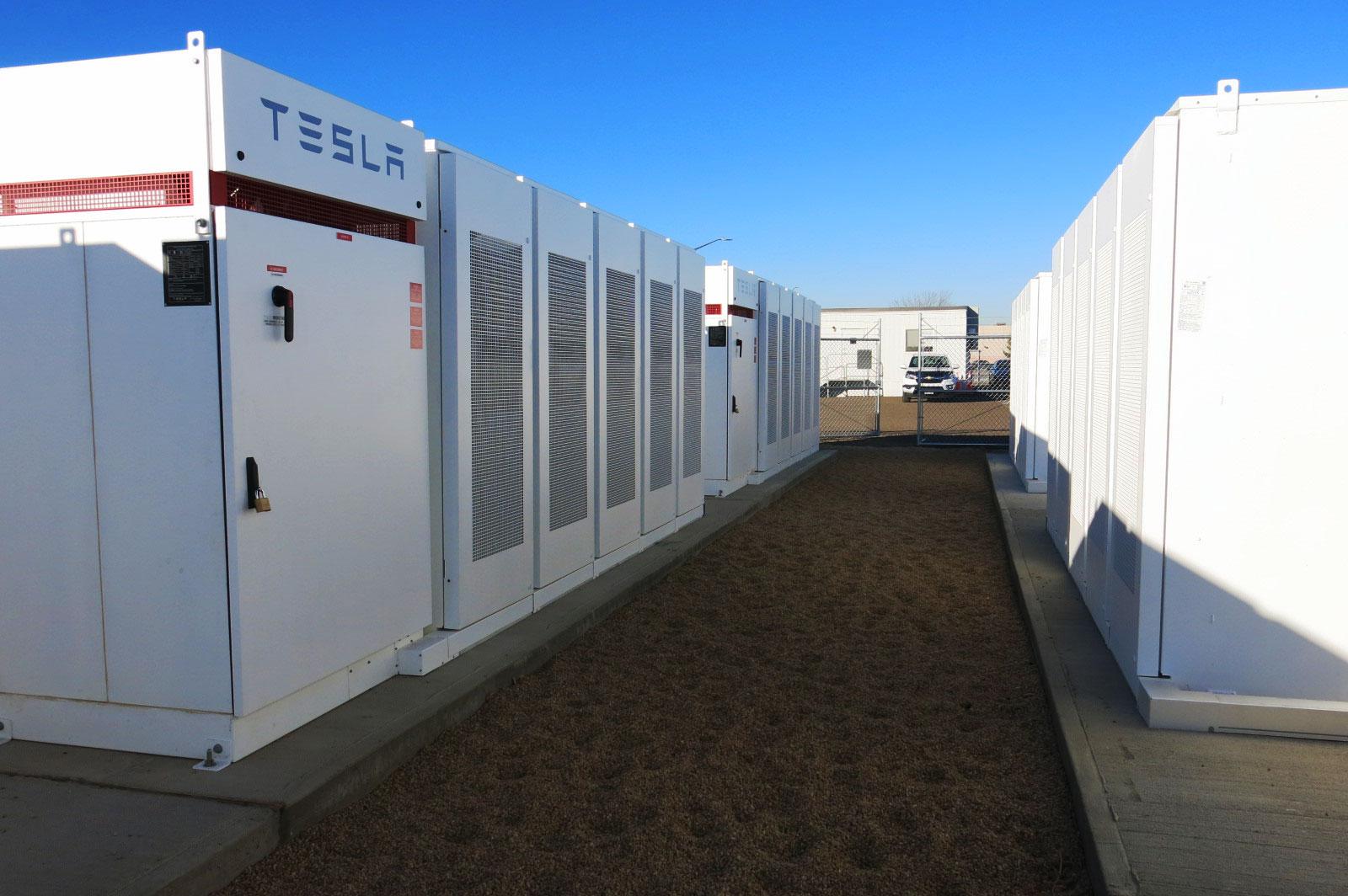 Photo: United Power Tesla Battery Storage