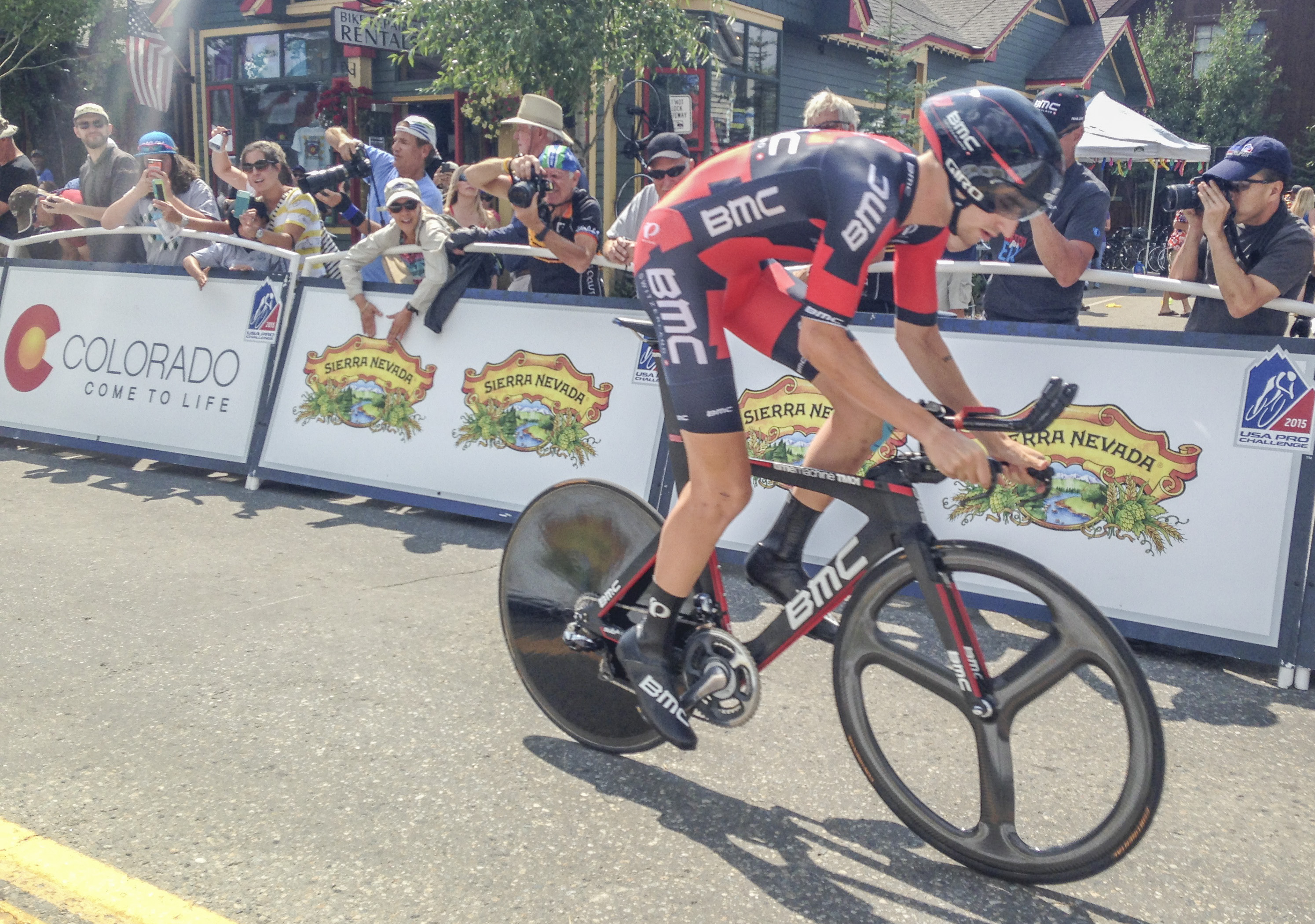 Photo: Cyclist Taylor Phinney