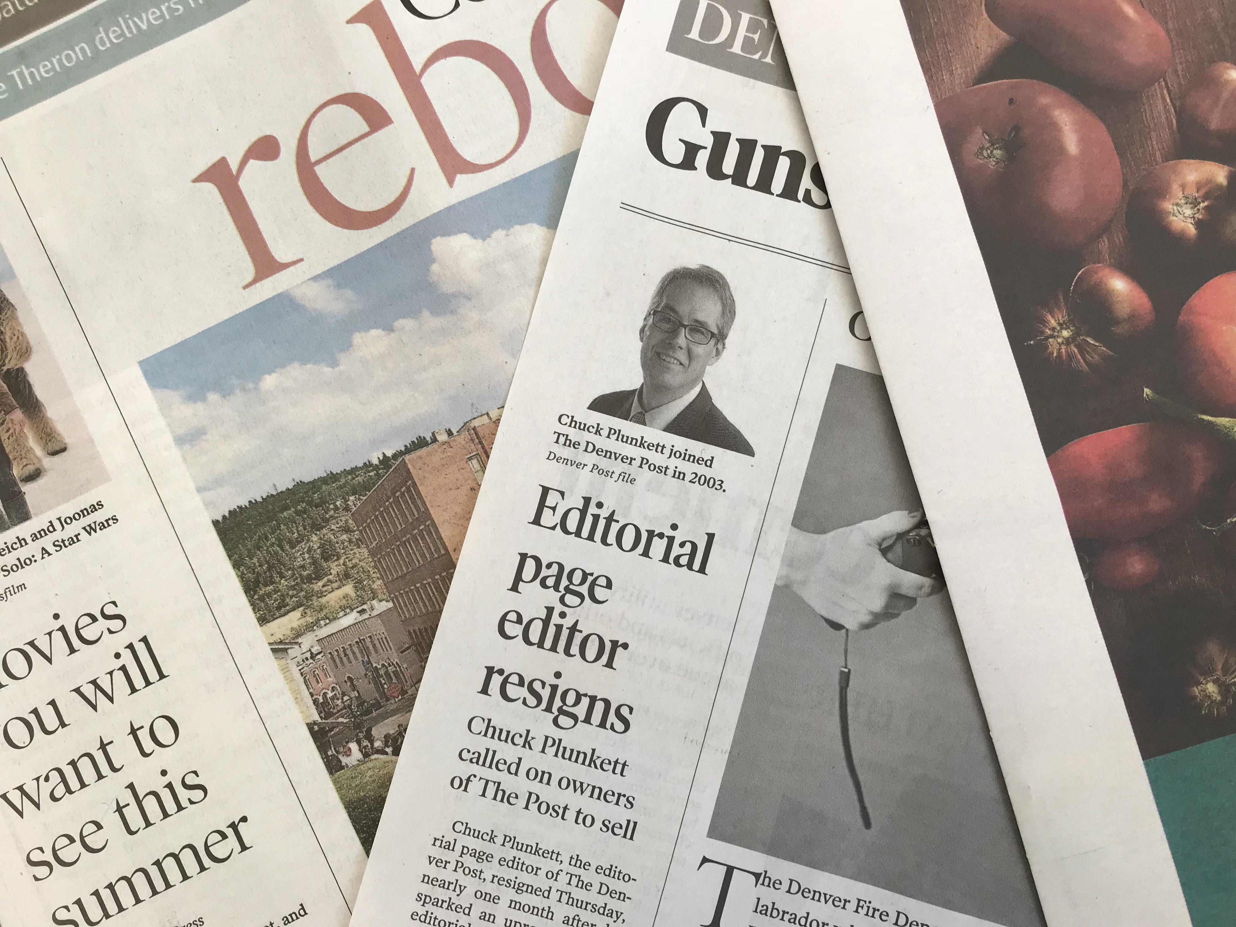 Photo: Chuck Plunkett Resigns