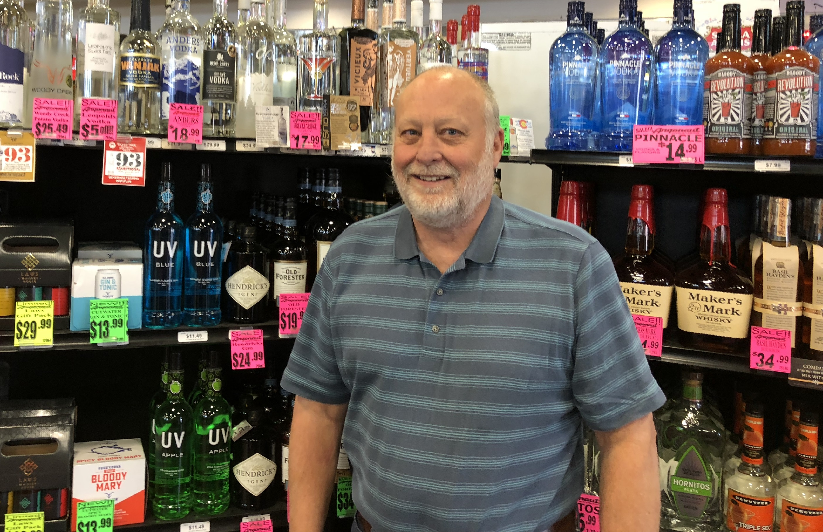 Photo: Ron Vaughn Argonaut Wine and Liquor