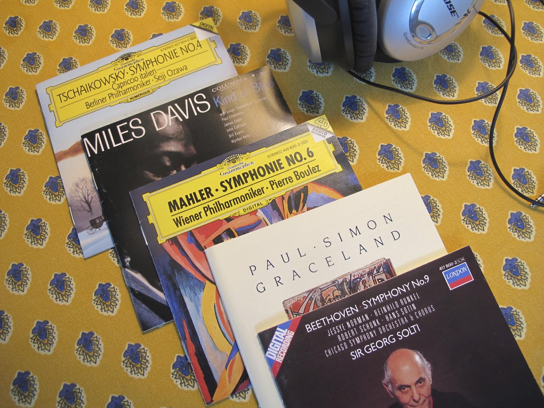 Photo: Richard's discs photo