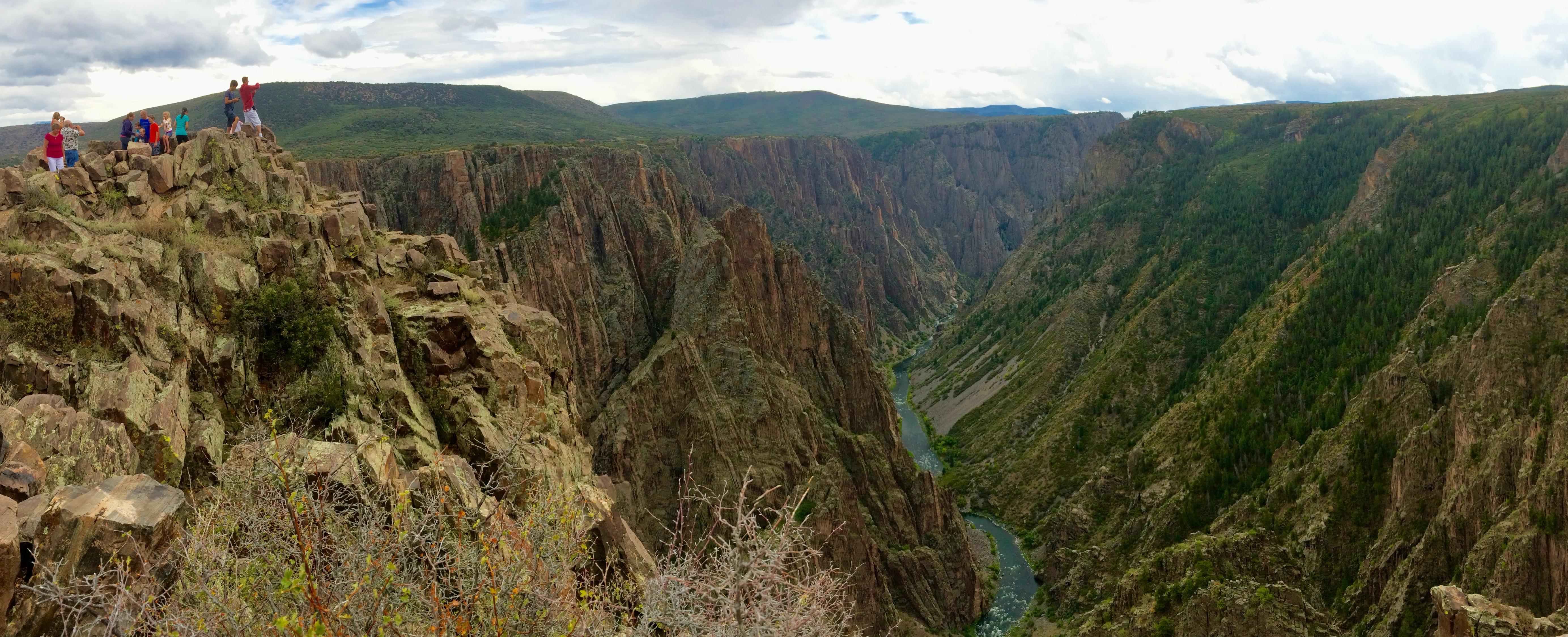 Photo: Black Canyon of the Gunnison Overlook