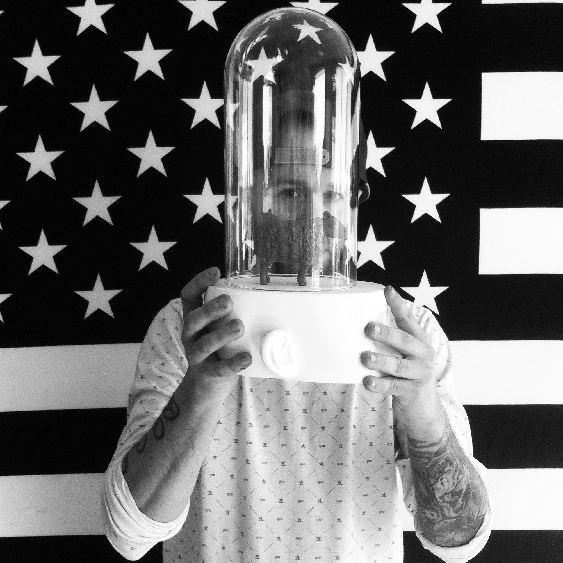 Photo: portrait of Denver street artist Jolt