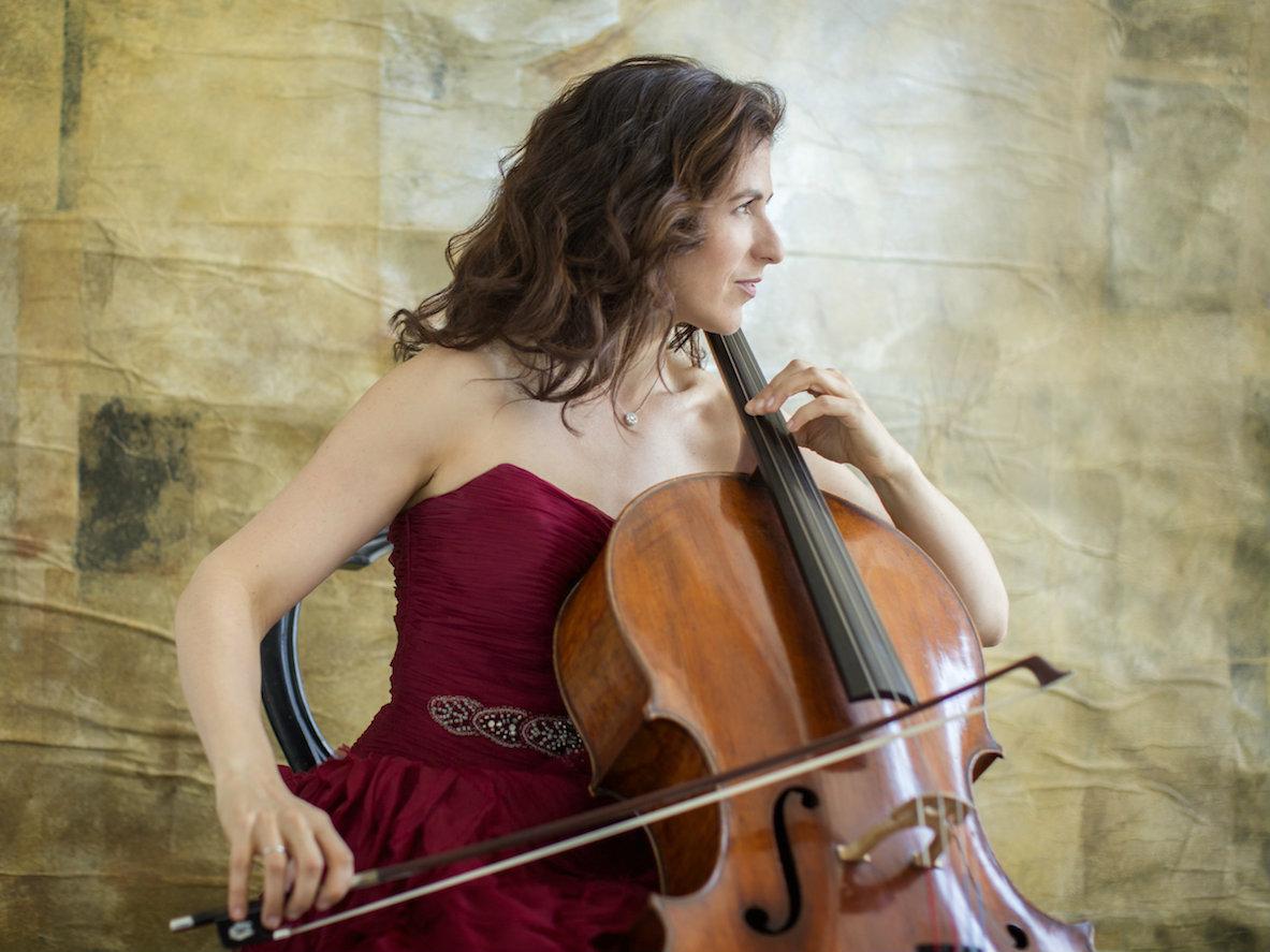 Photo: Cellist Inbal Segev
