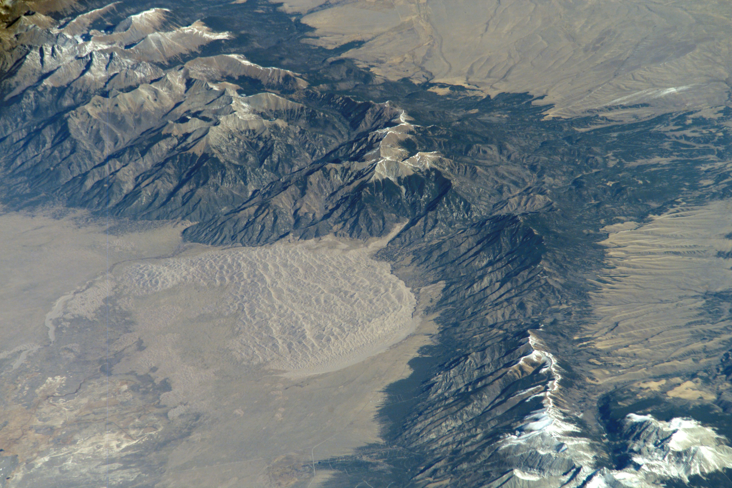 Photo: Drought History 2 | Great Sand Dunes From Space - Courtesy