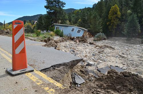 Jamestown Flood Damage
