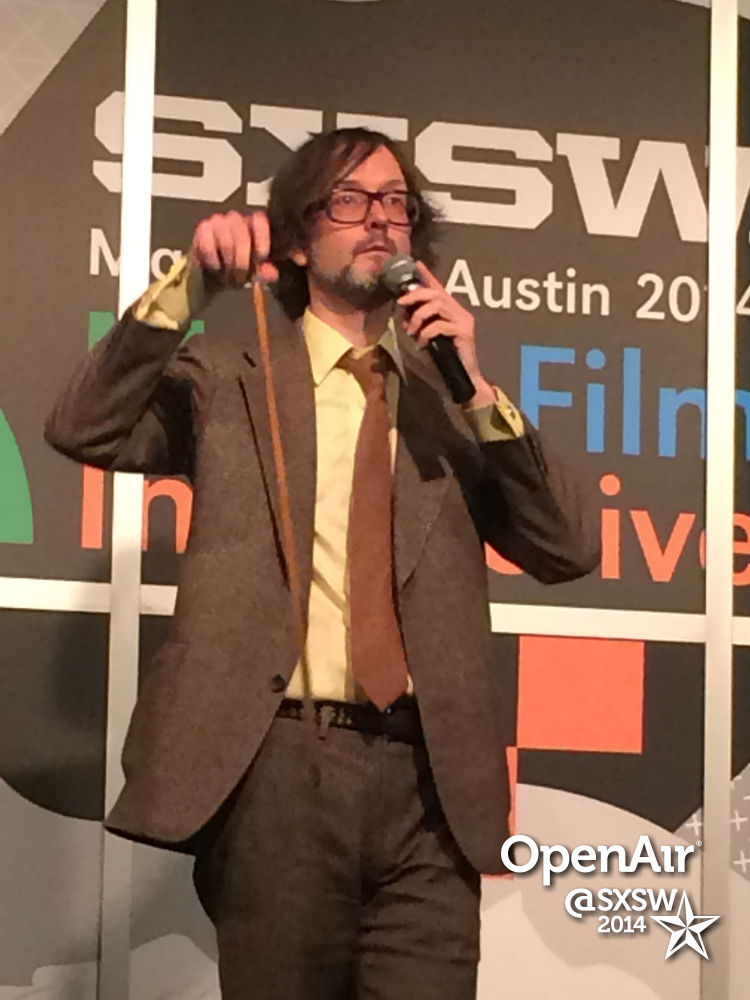 photo: Jarvis at SXSW